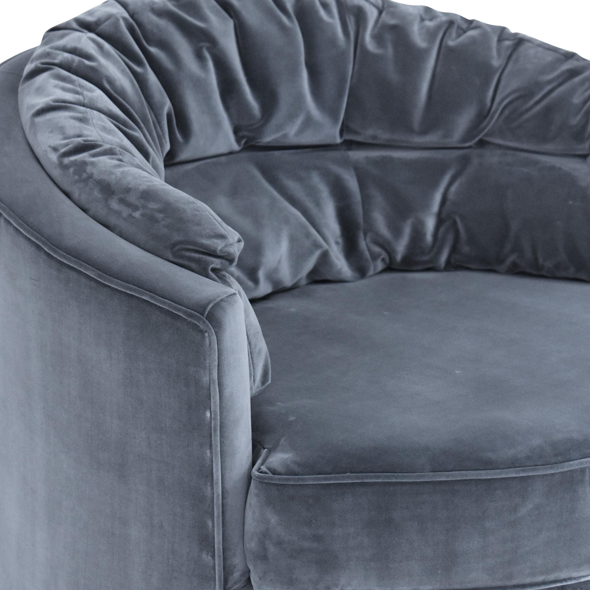 Eichholtz Eichholtz Recla Round Chair  for sale