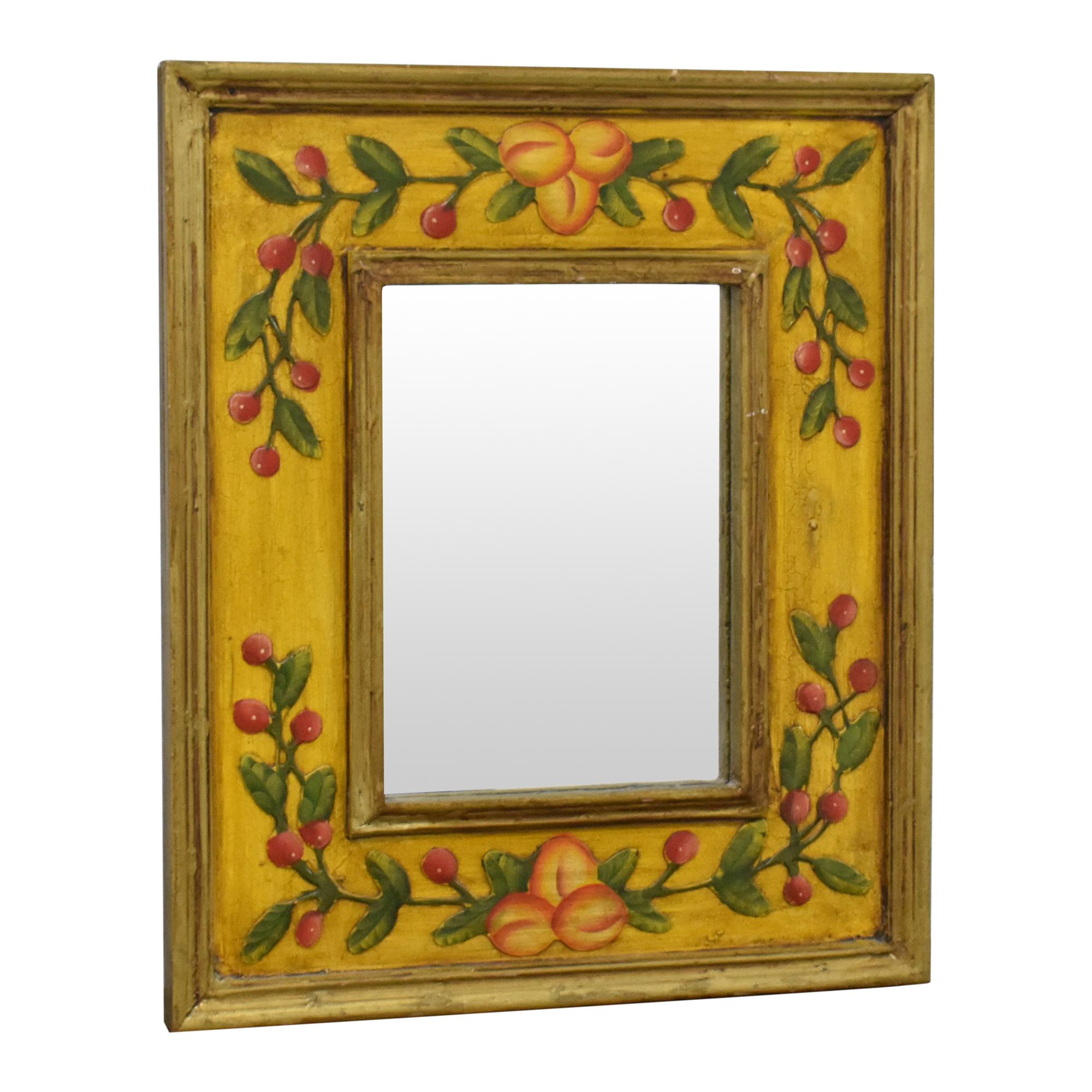 buy Fruit Framed Mirror  Decor