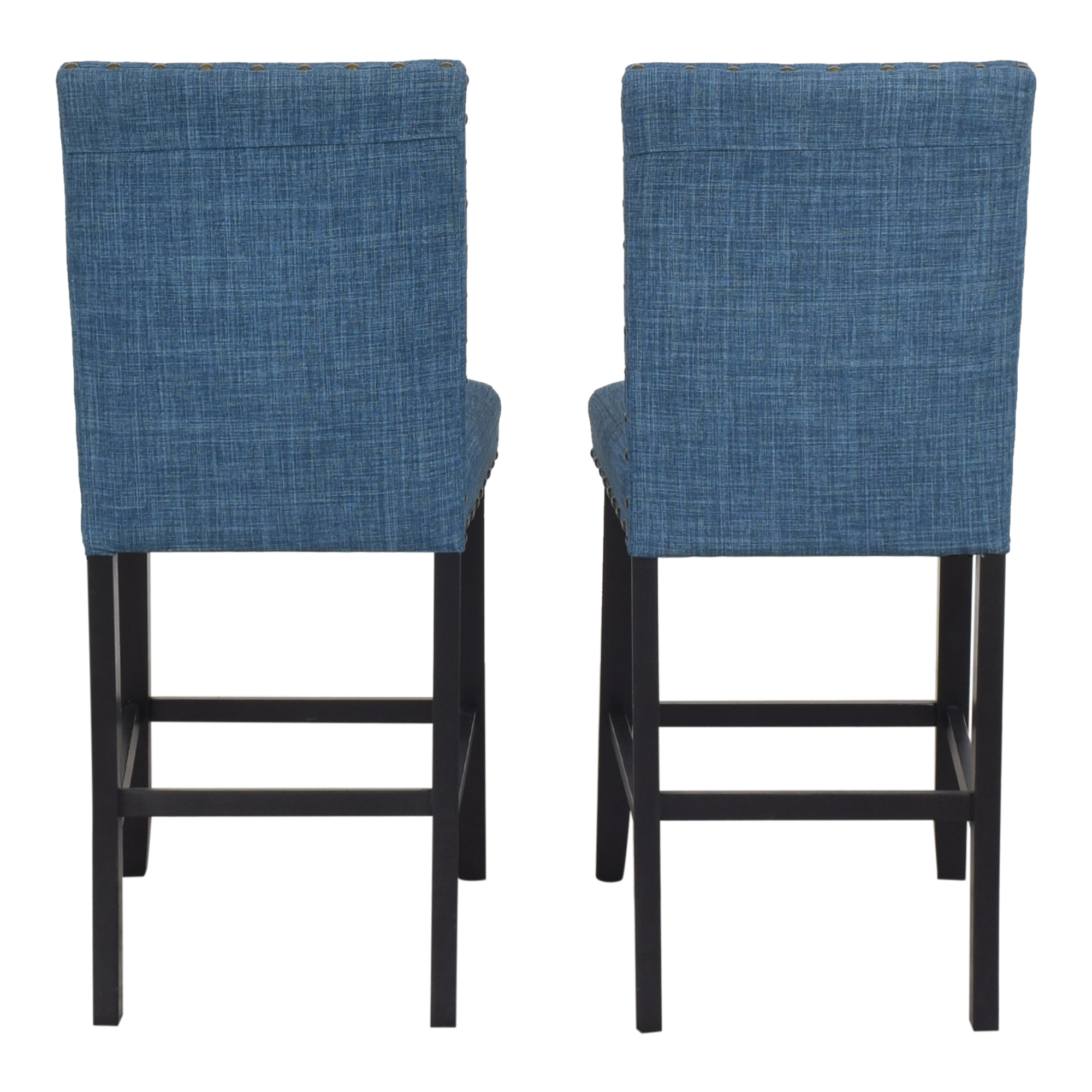shop Overstock Biony Nailhead Counter Stools Overstock