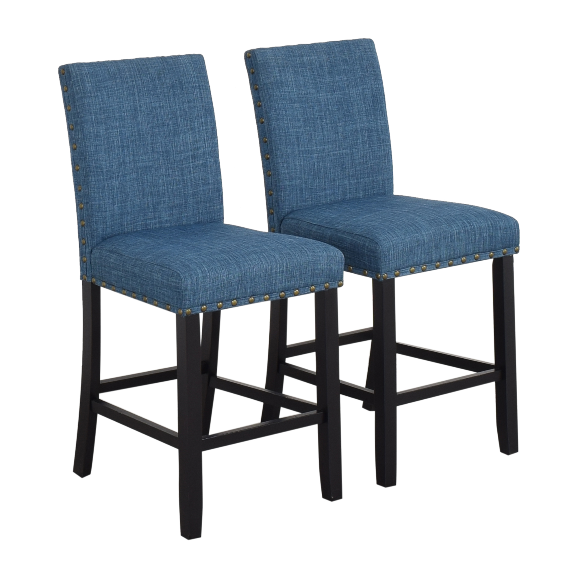 Overstock Overstock Biony Nailhead Counter Stools used