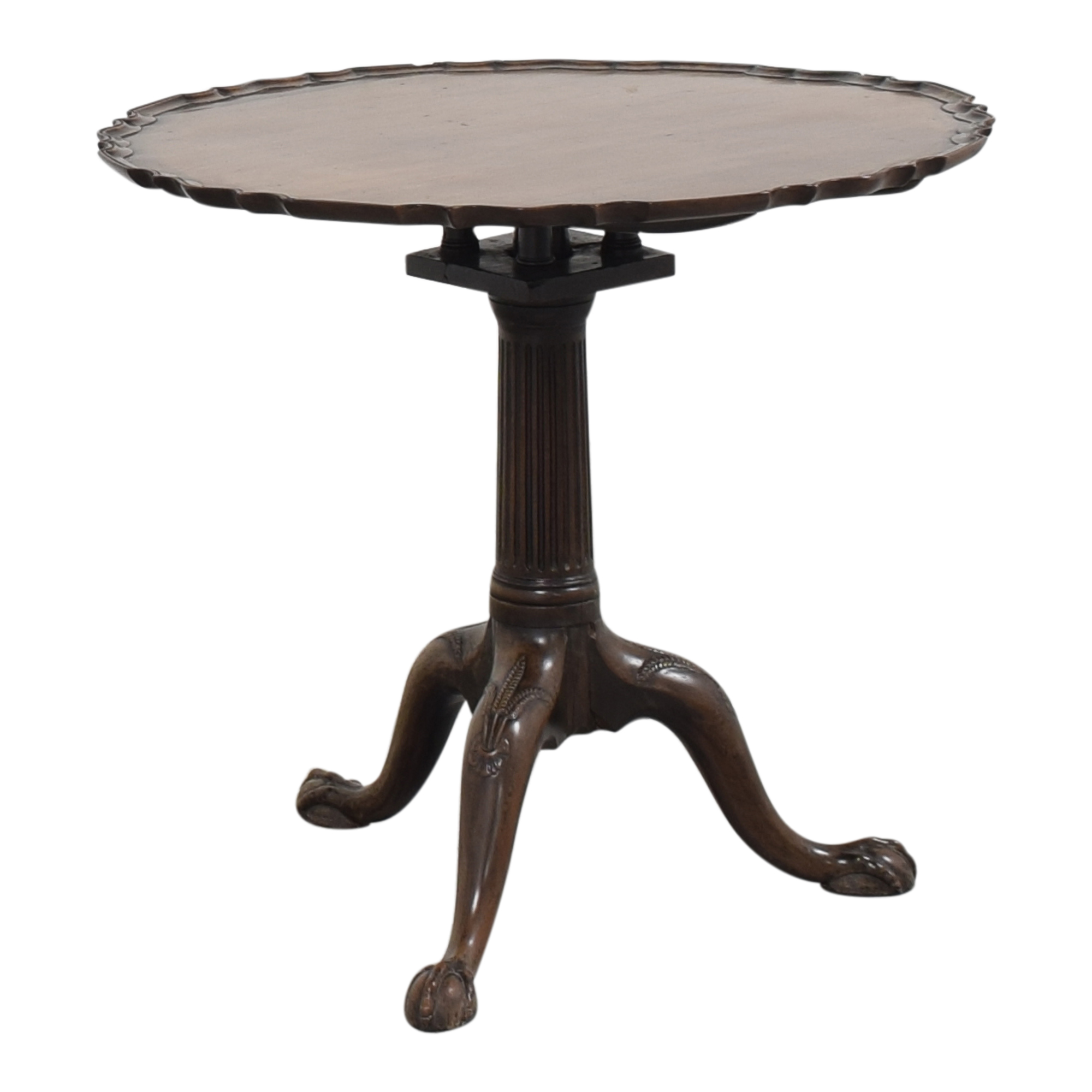 Pie Crust Side Table discount