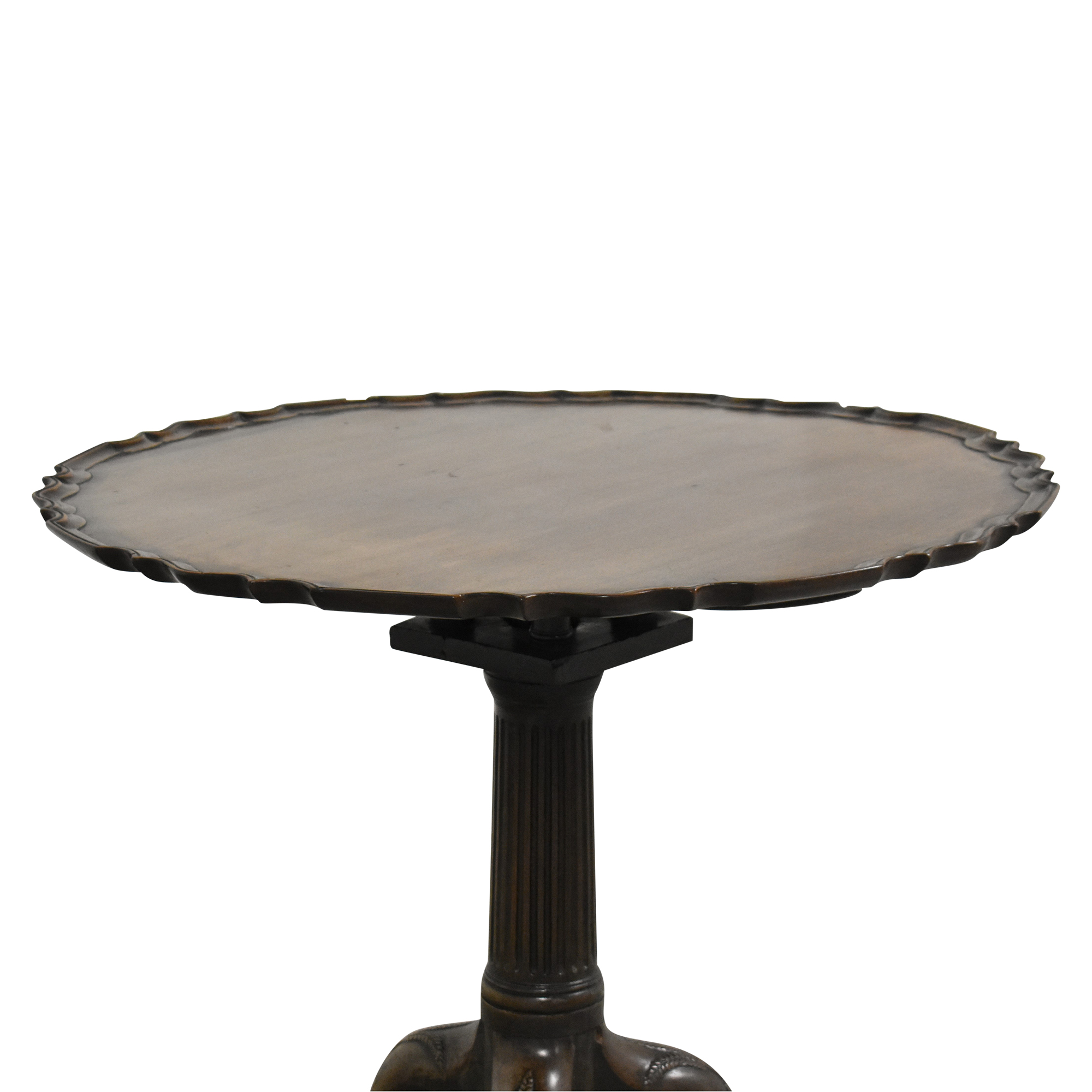 Pie Crust Side Table ct