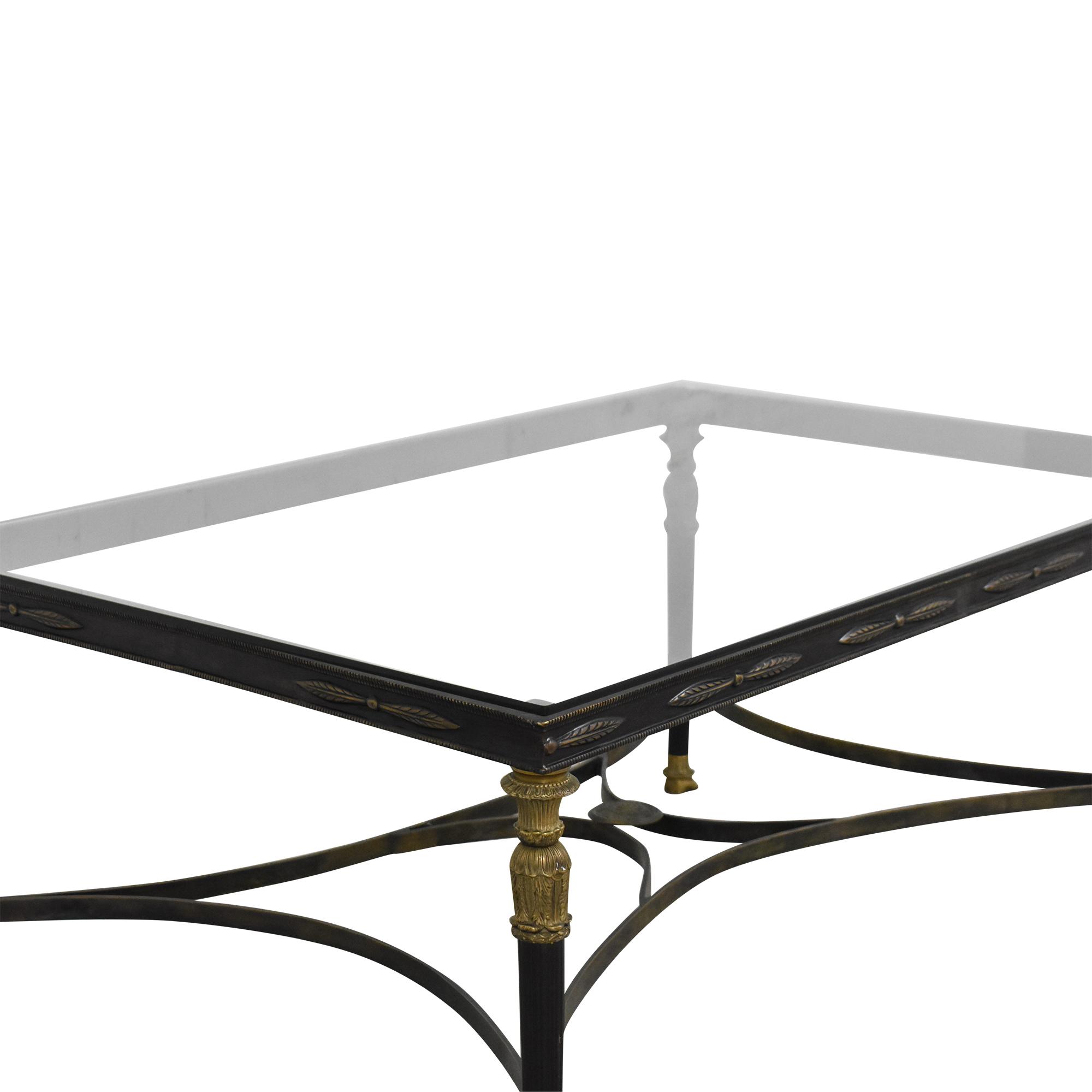Rectangular Coffee Table used