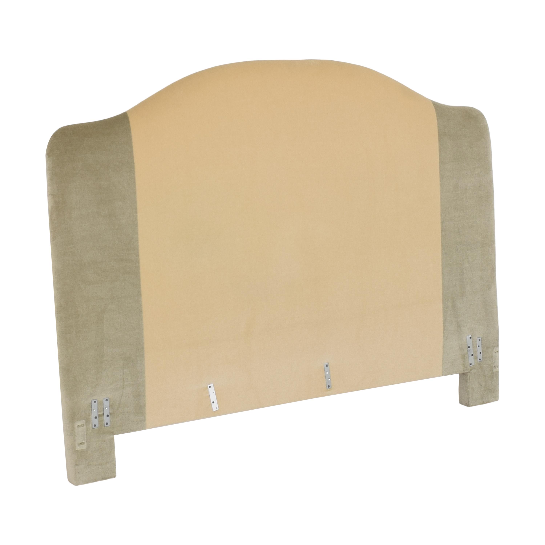 buy  Custom Camelback Upholstered Headboard online