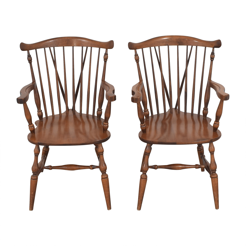 Moosehead Moosehead Windsor Dining Arm Chairs Chairs