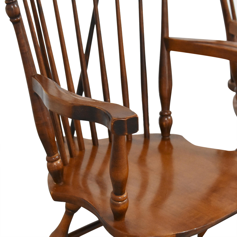 Moosehead Windsor Dining Arm Chairs sale