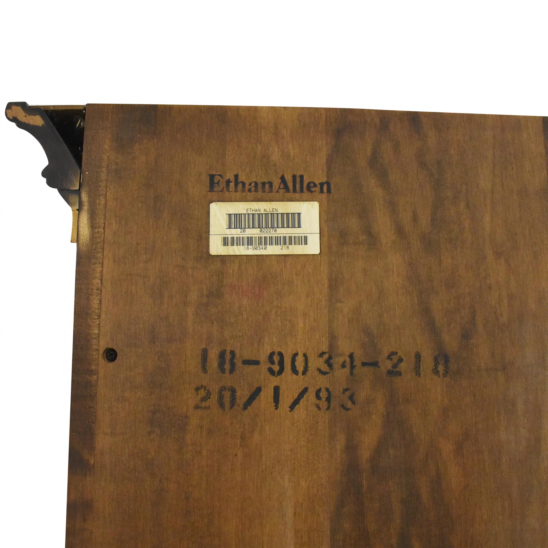Ethan Allen Ethan Allen Corner Bookcase brown