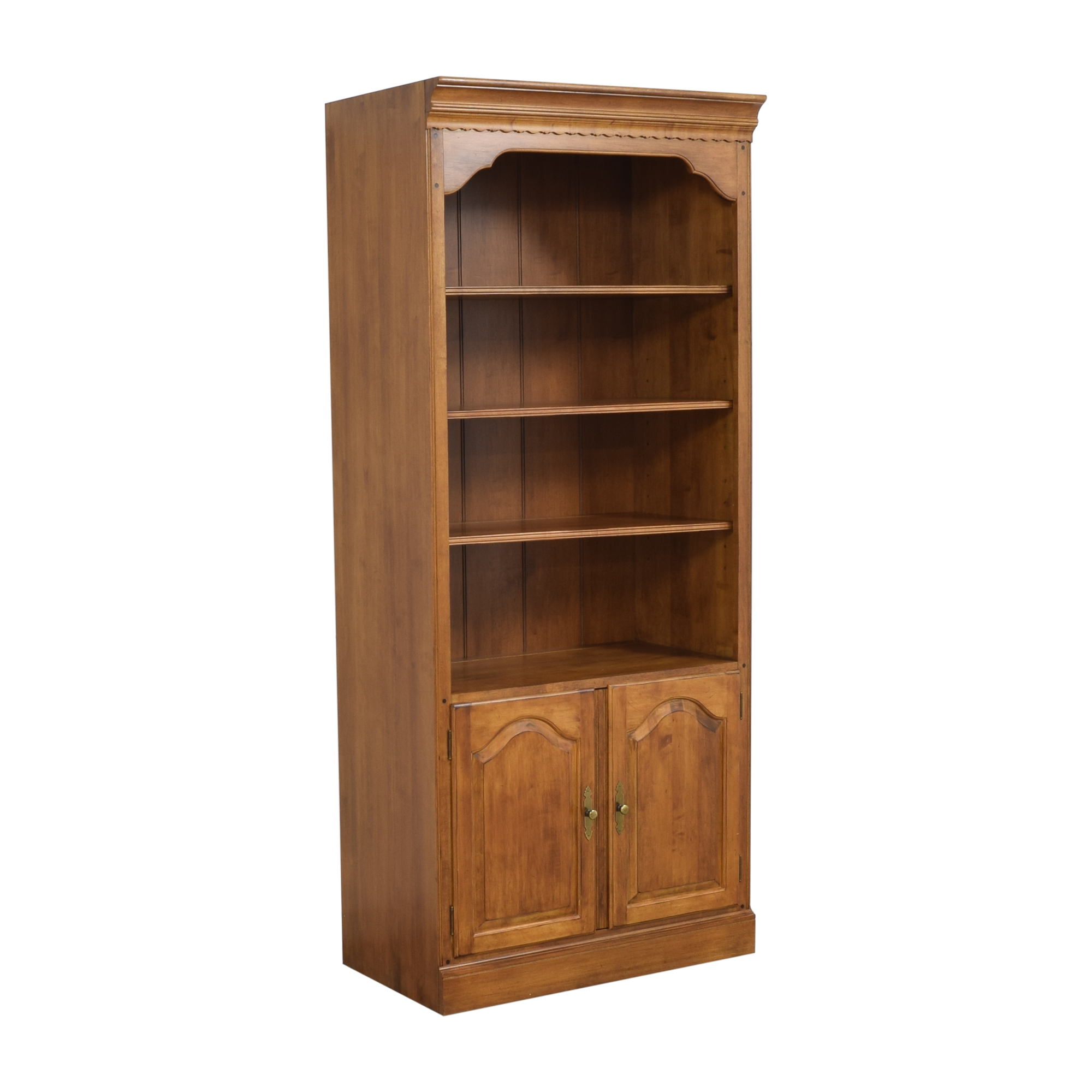 Ethan Allen Ethan Allen Circa 1776 Collection Bookcase with Cabinet ct