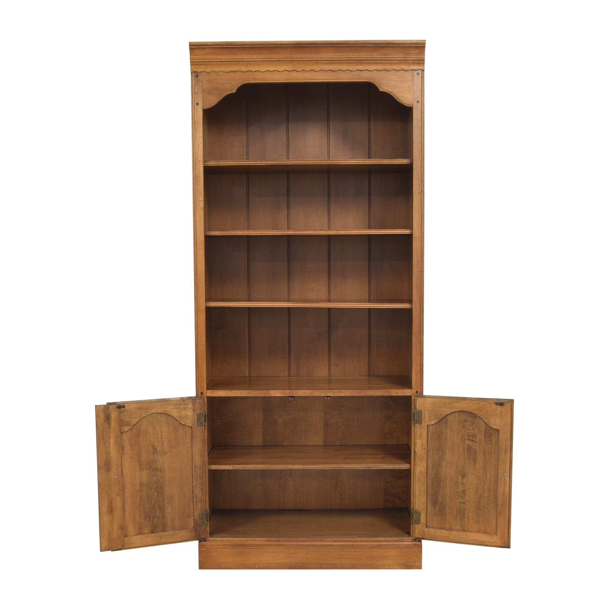 Ethan Allen Circa 1776 Collection Bookcase with Cabinet / Storage