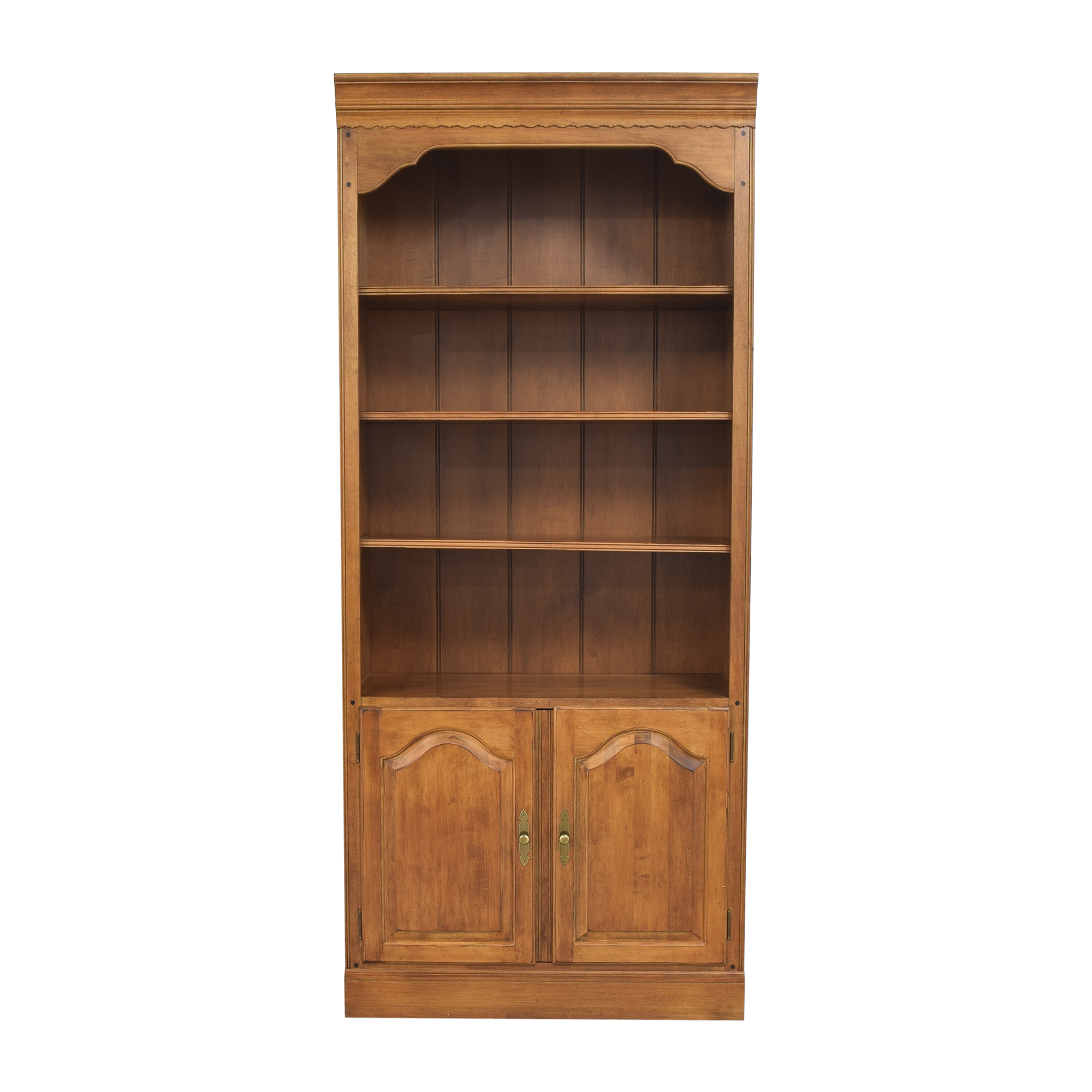 Ethan Allen Circa 1776 Collection Bookcase with Cabinet Ethan Allen