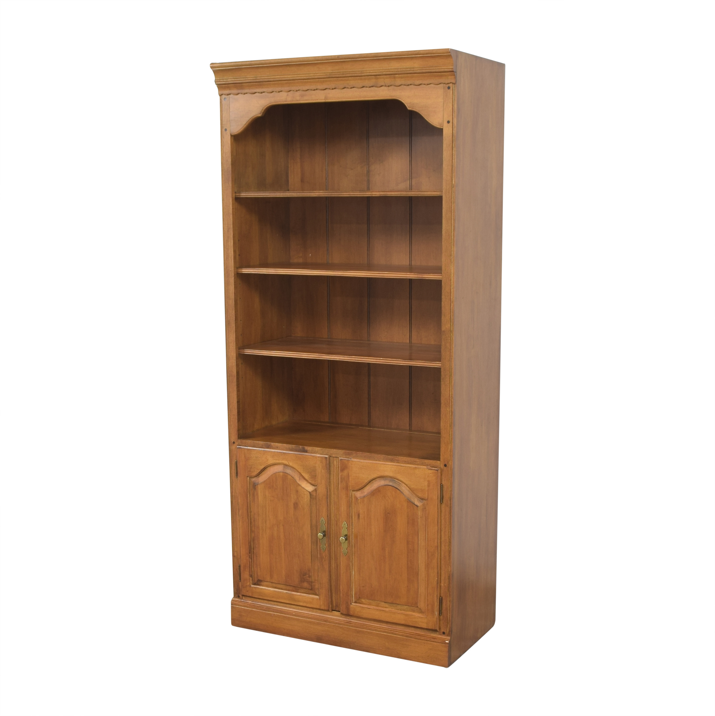 Ethan Allen Ethan Allen Circa 1776 Collection Bookcase with Cabinet nyc