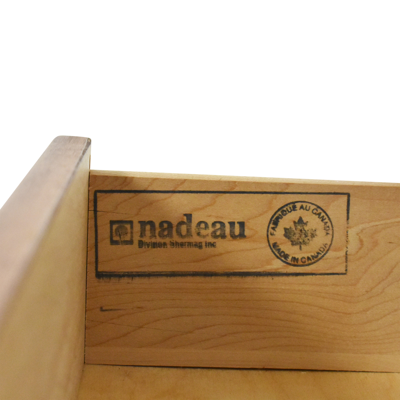 buy Nadeau Double Dresser with Mirror Nadeau Storage