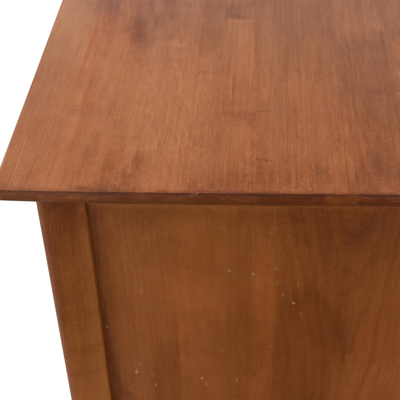 Nadeau Nadeau Two Drawer Nightstand brown