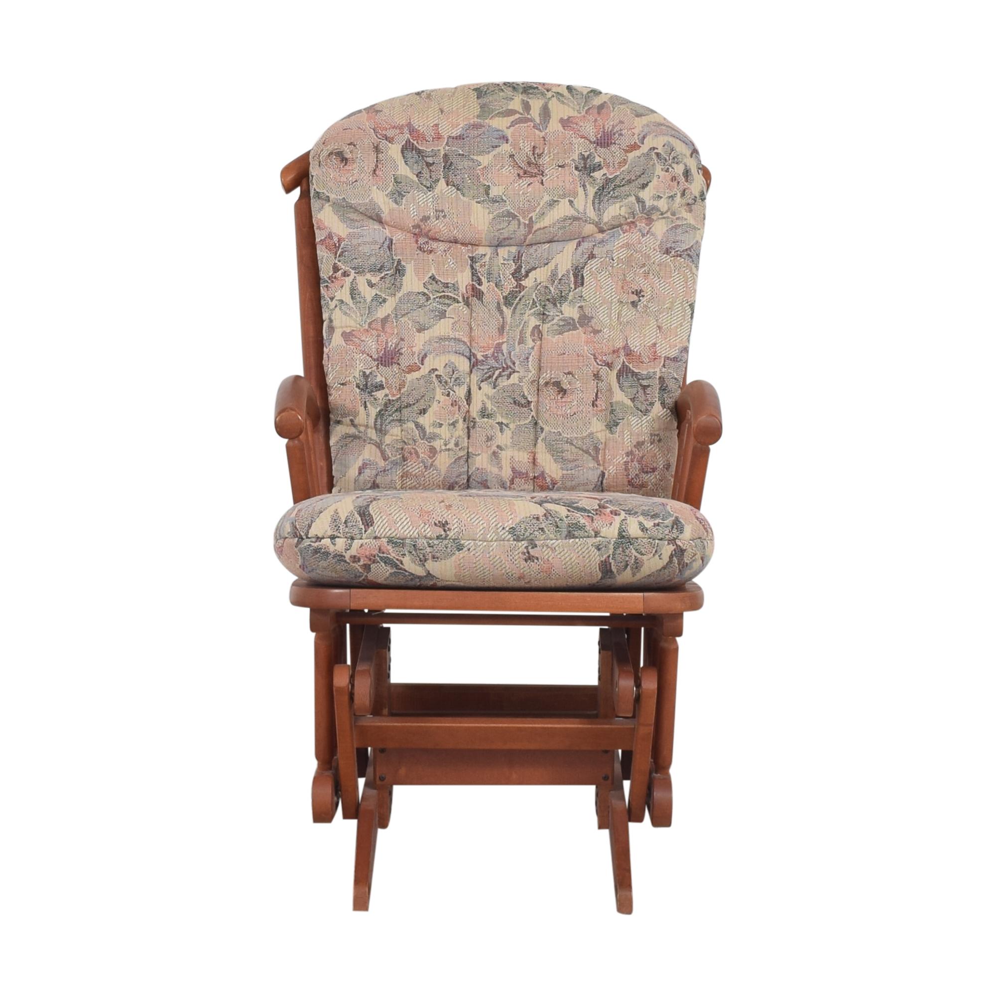 buy Dutailier Archback Glider Dutailier Chairs