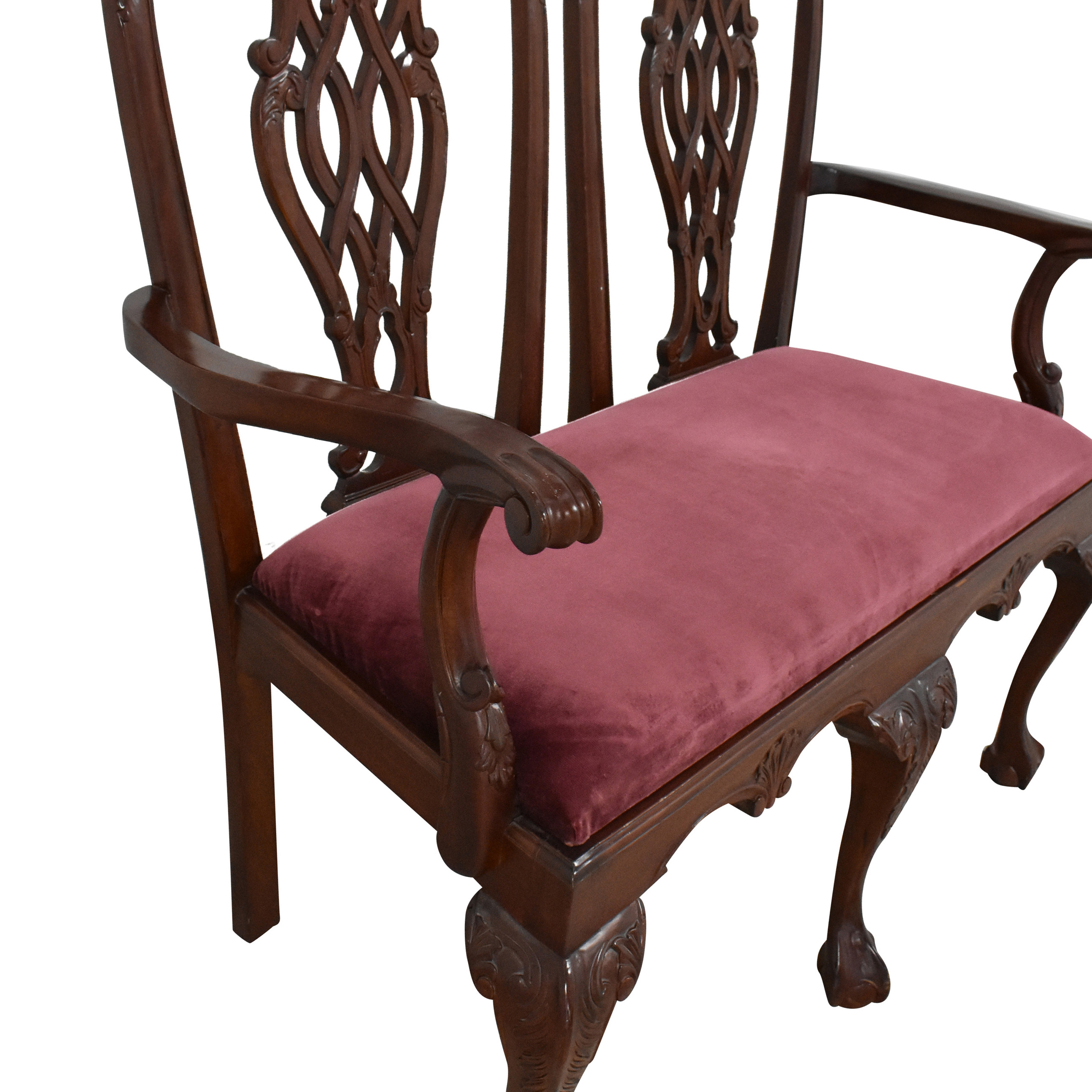 Chippendale Ball and Claw Settee used