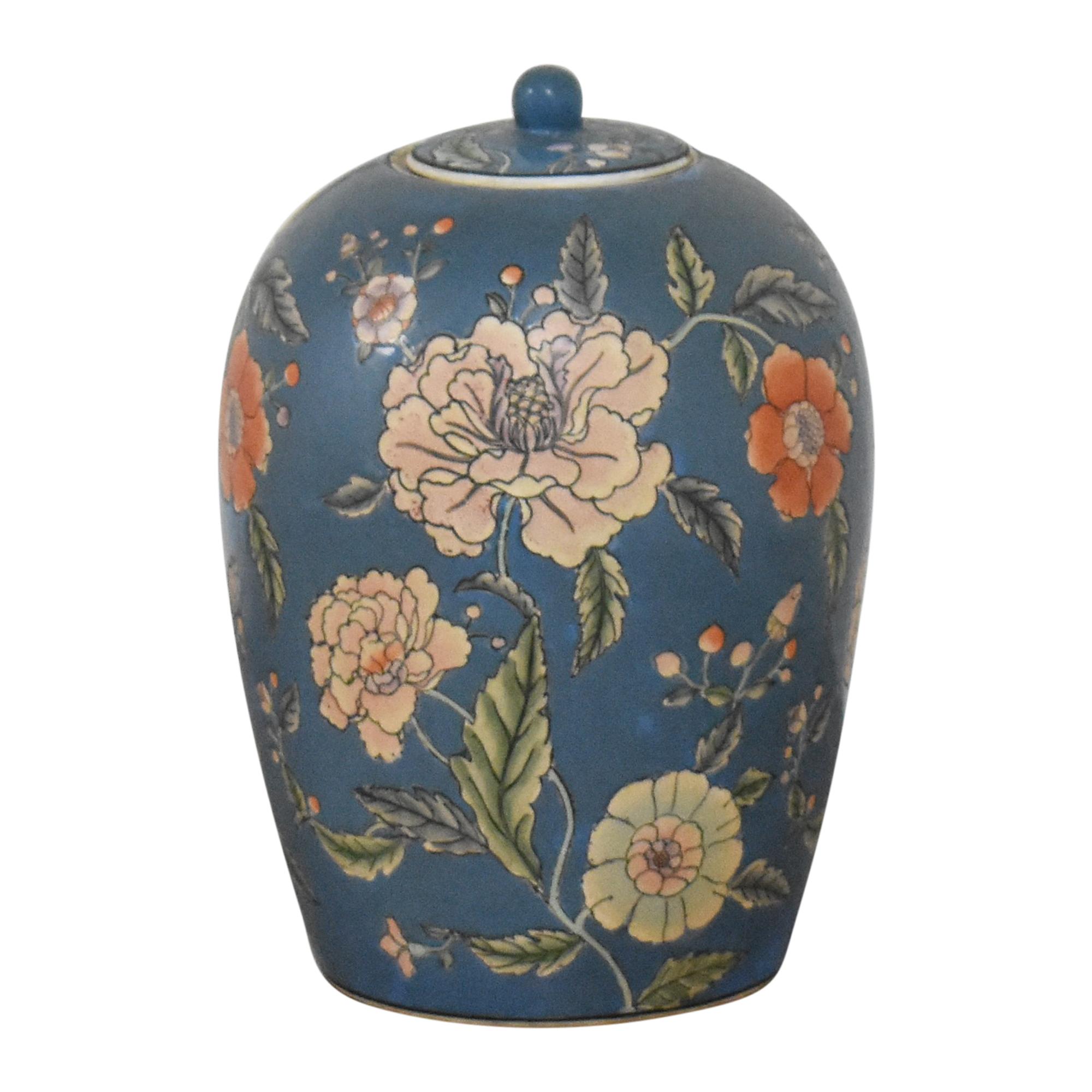 Large Decorative Floral Urn discount