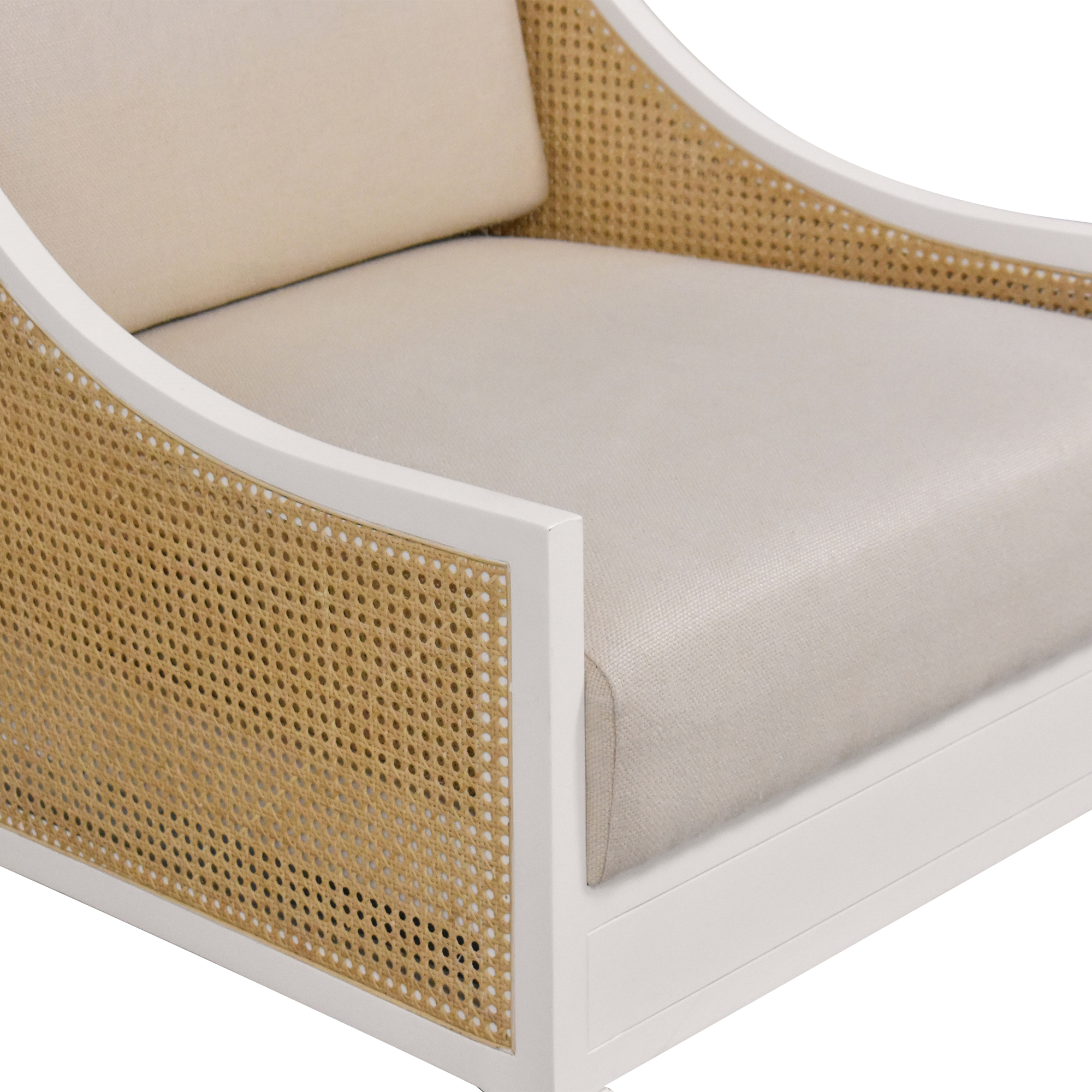 buy Bungalow 5 Bungalow 5 Raleigh French Country Caned Wing Chair online