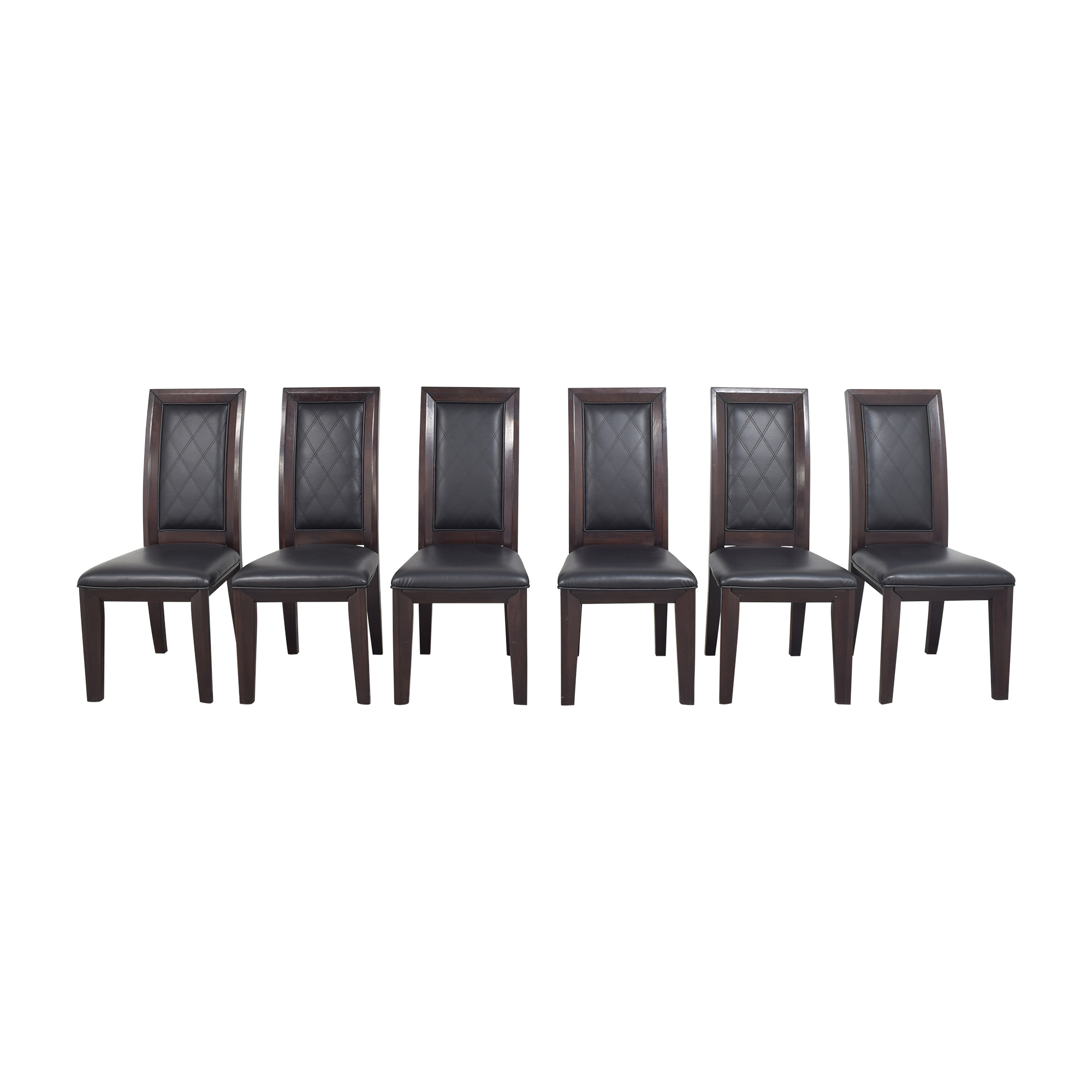 Raymour & Flanigan Raymour & Flanigan Callister Dining Chairs for sale