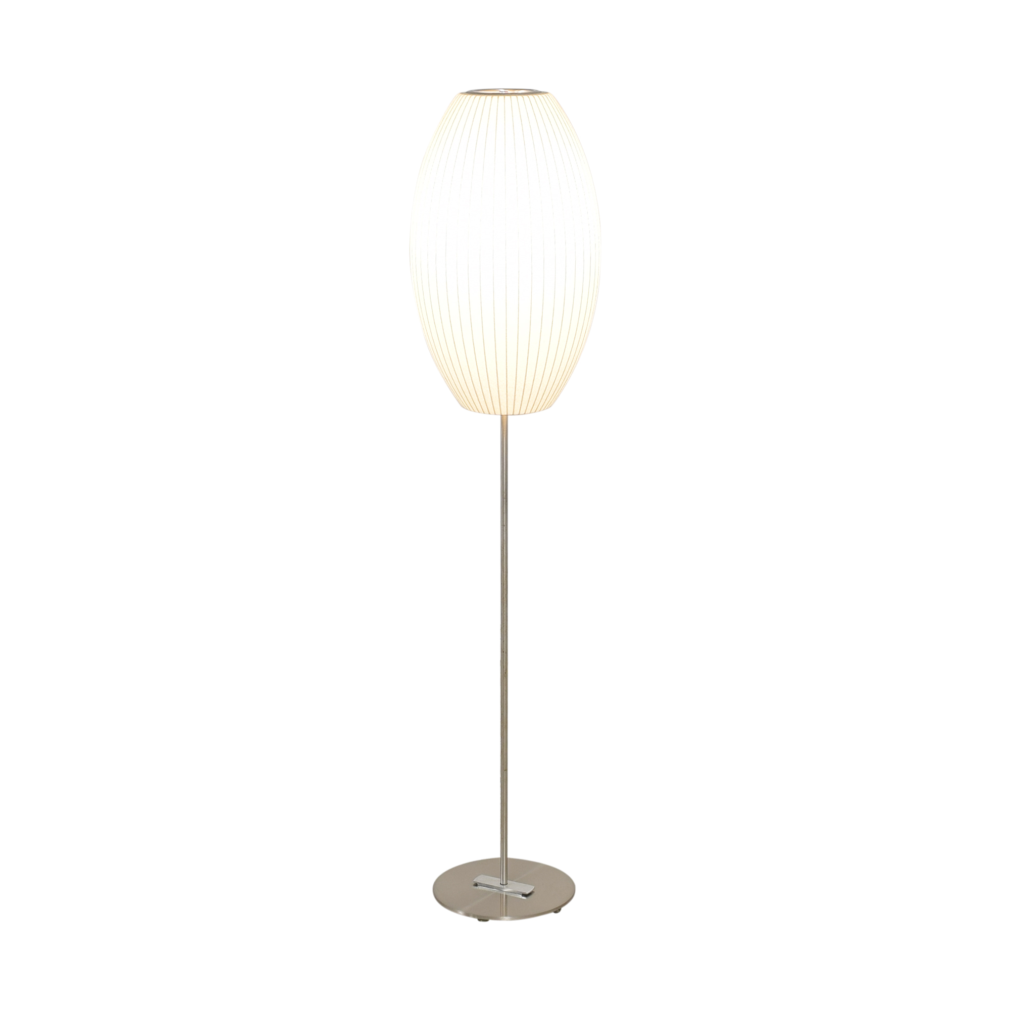 shop Modernica Nelson Cigar Lotus Floor Lamp Modernica Lamps