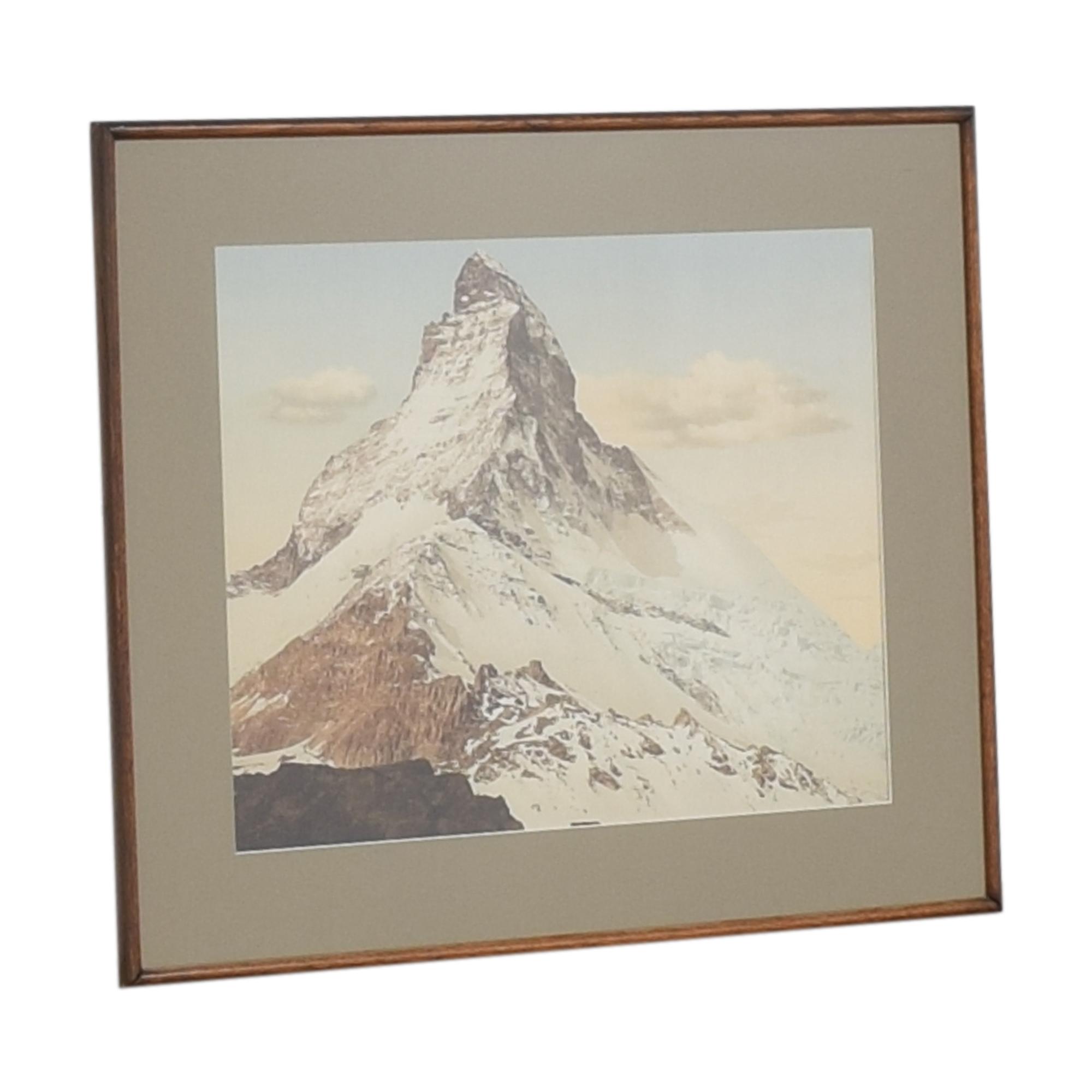 Matterhorn Mountain Wall Art nyc