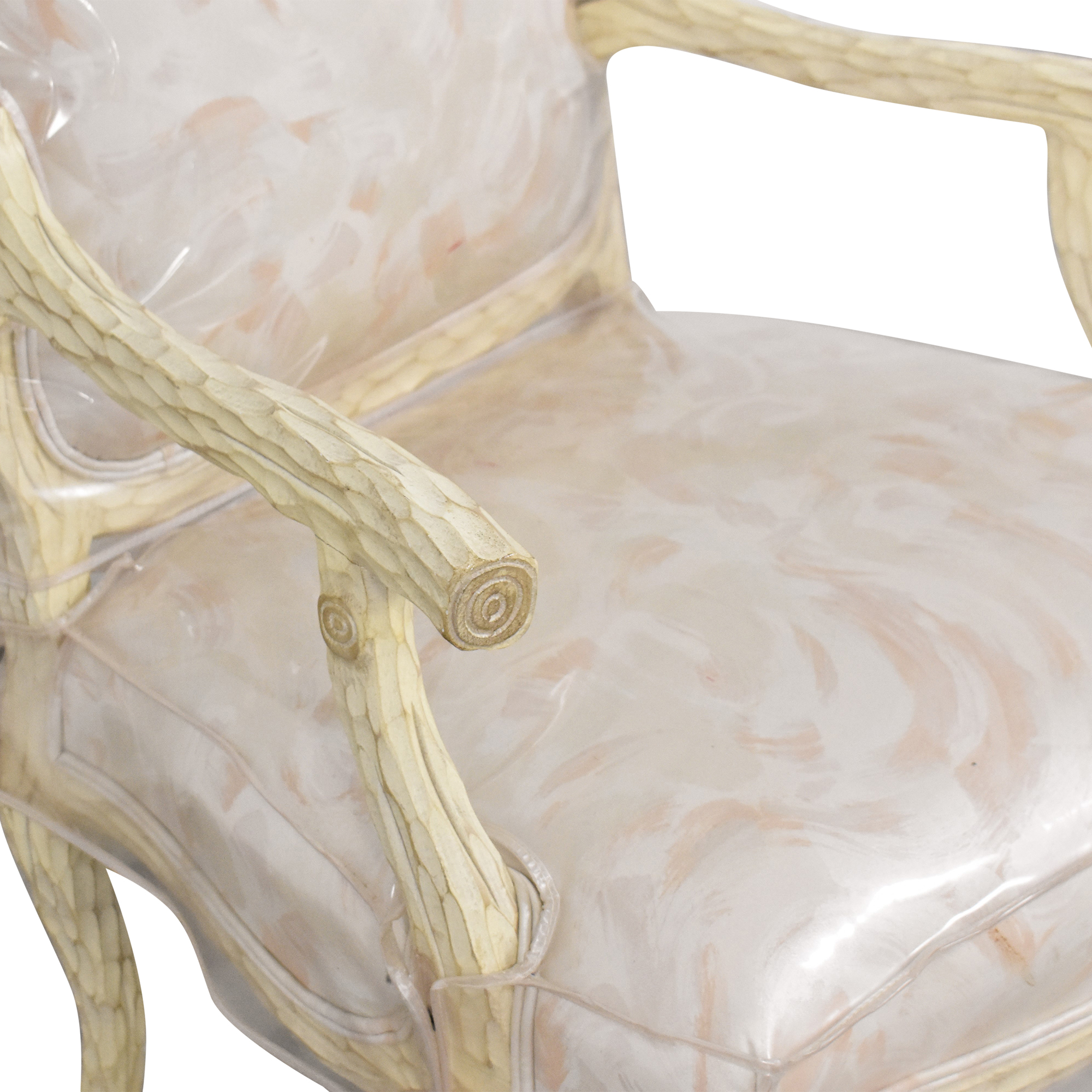 French Provincial-Style Arm Chair second hand