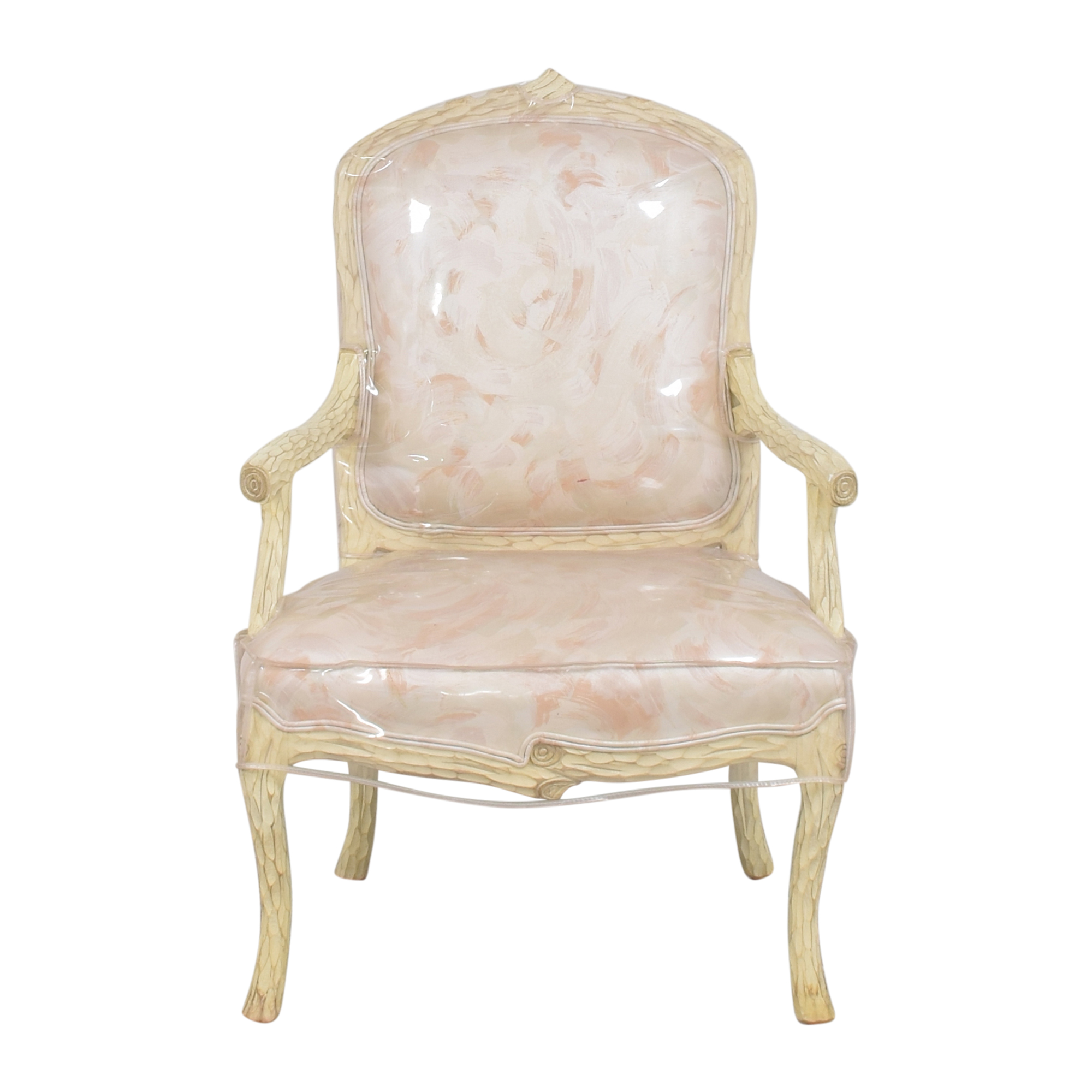 French Provincial-Style Arm Chair Accent Chairs