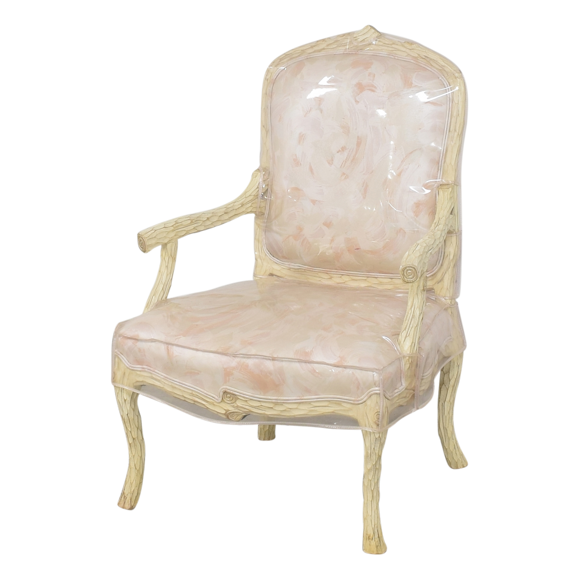 French Provincial-Style Arm Chair ct