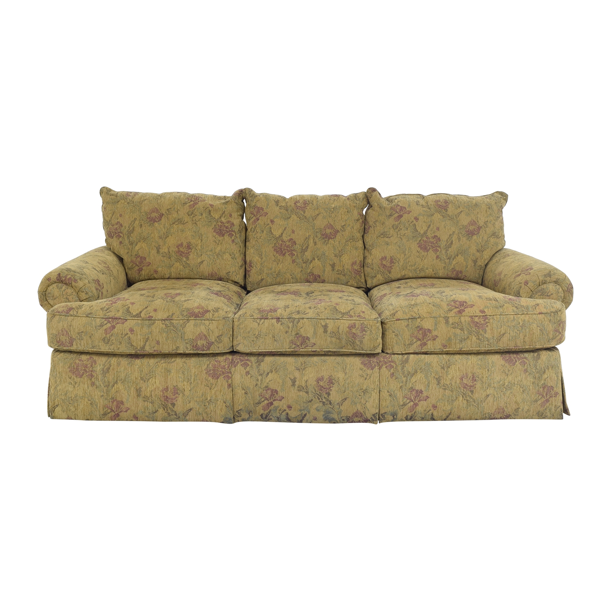 Thomasville Thomasville Floral Three Cushion Sofa nyc