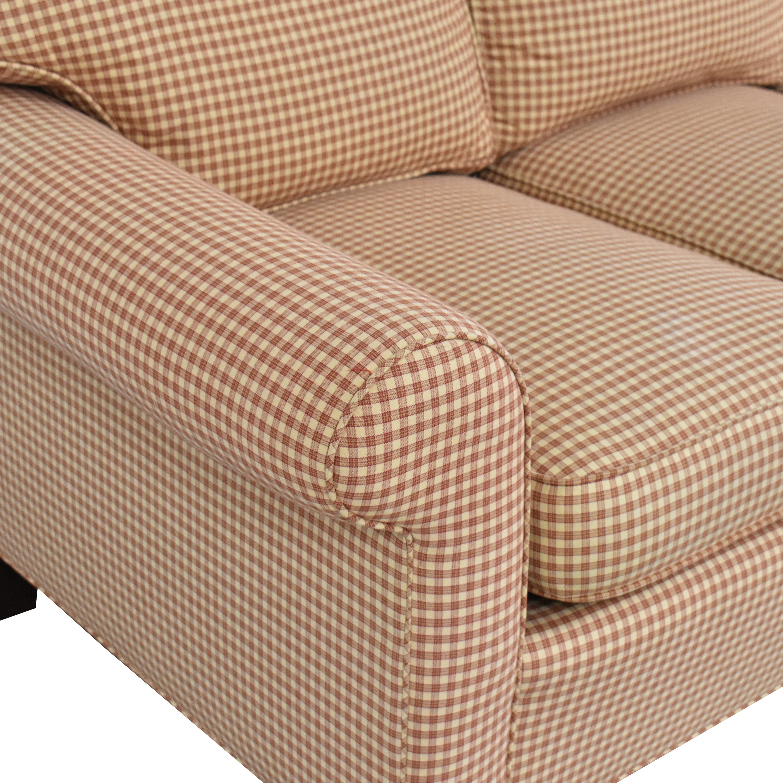 shop Sherrill Furniture Three Cushion Sofa Sherrill Furniture Classic Sofas