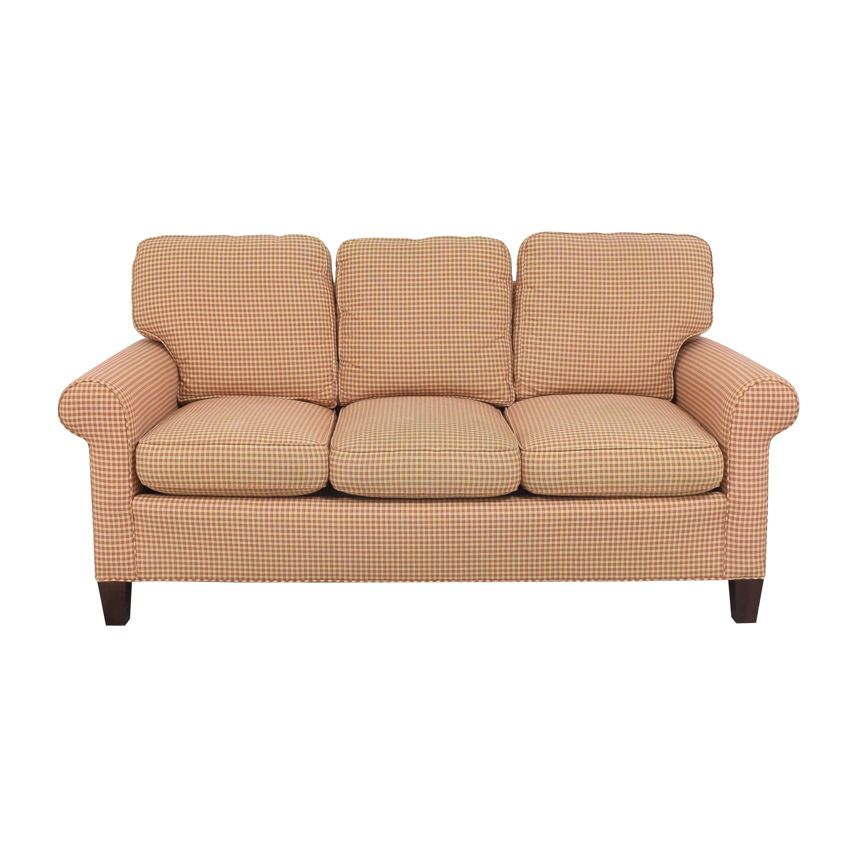 shop Sherrill Furniture Sherrill Furniture Three Cushion Sofa online
