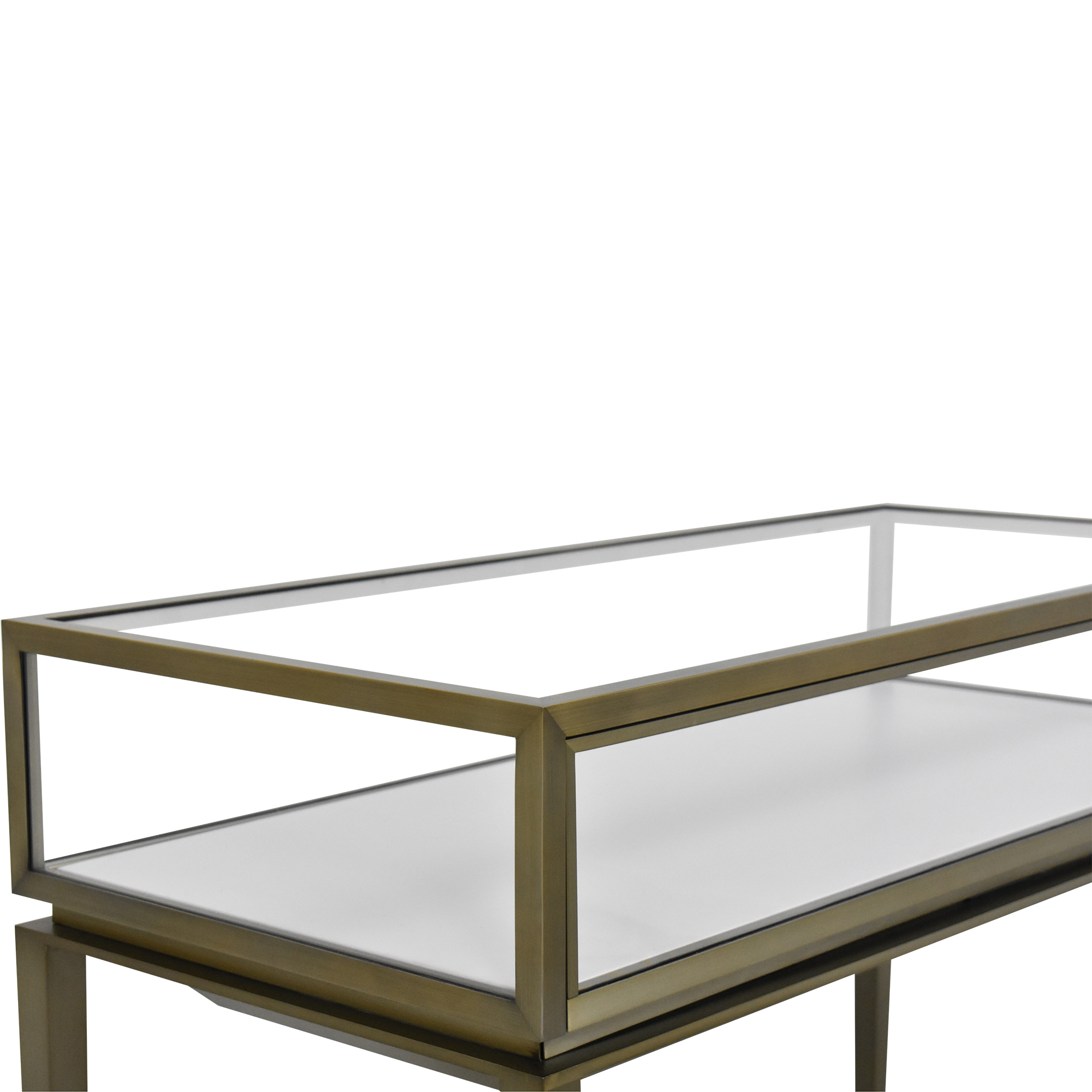 Displays2Go Displays2Go Lighted Display Table Accent Tables