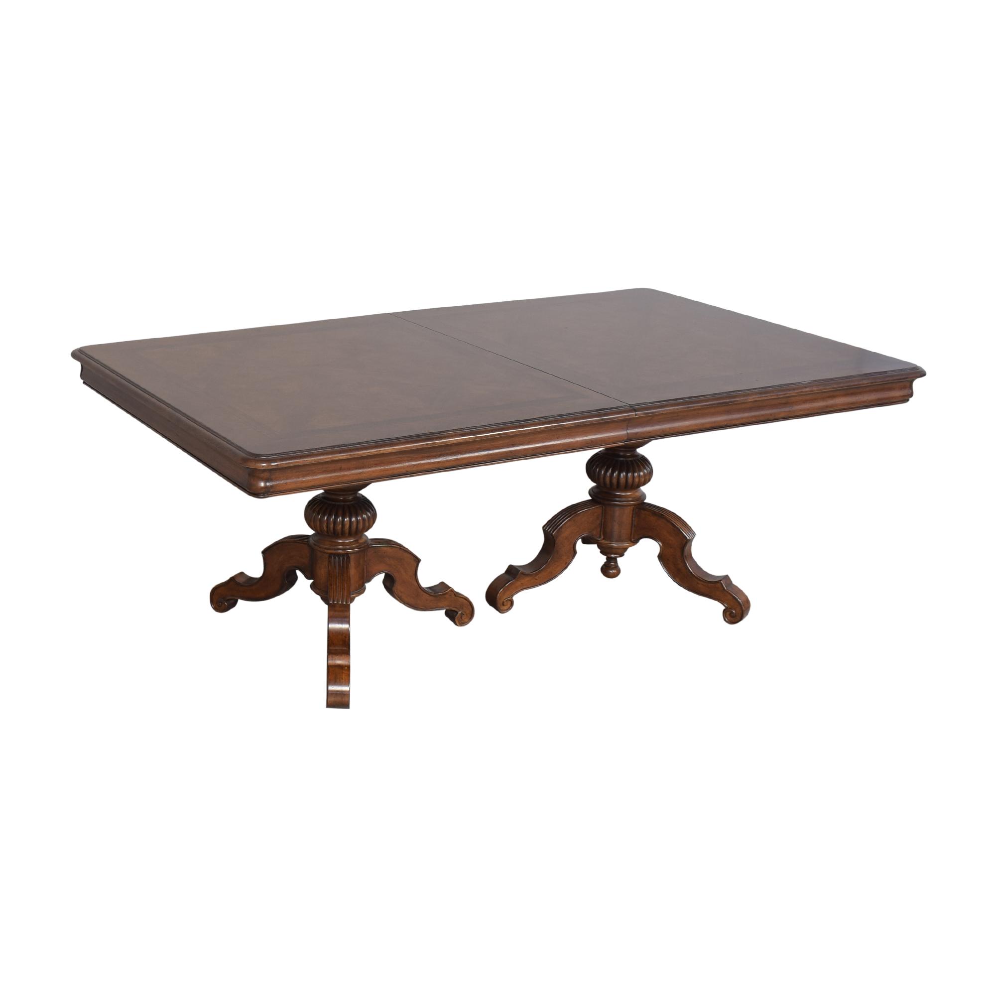 Thomasville Thomasville Ernest Hemingway Castillian Double Pedestal Dining Table ct