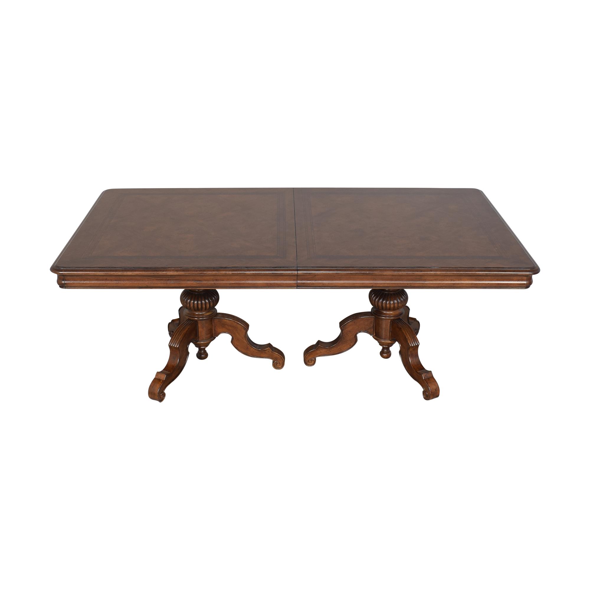 shop Thomasville Thomasville Ernest Hemingway Castillian Double Pedestal Dining Table online