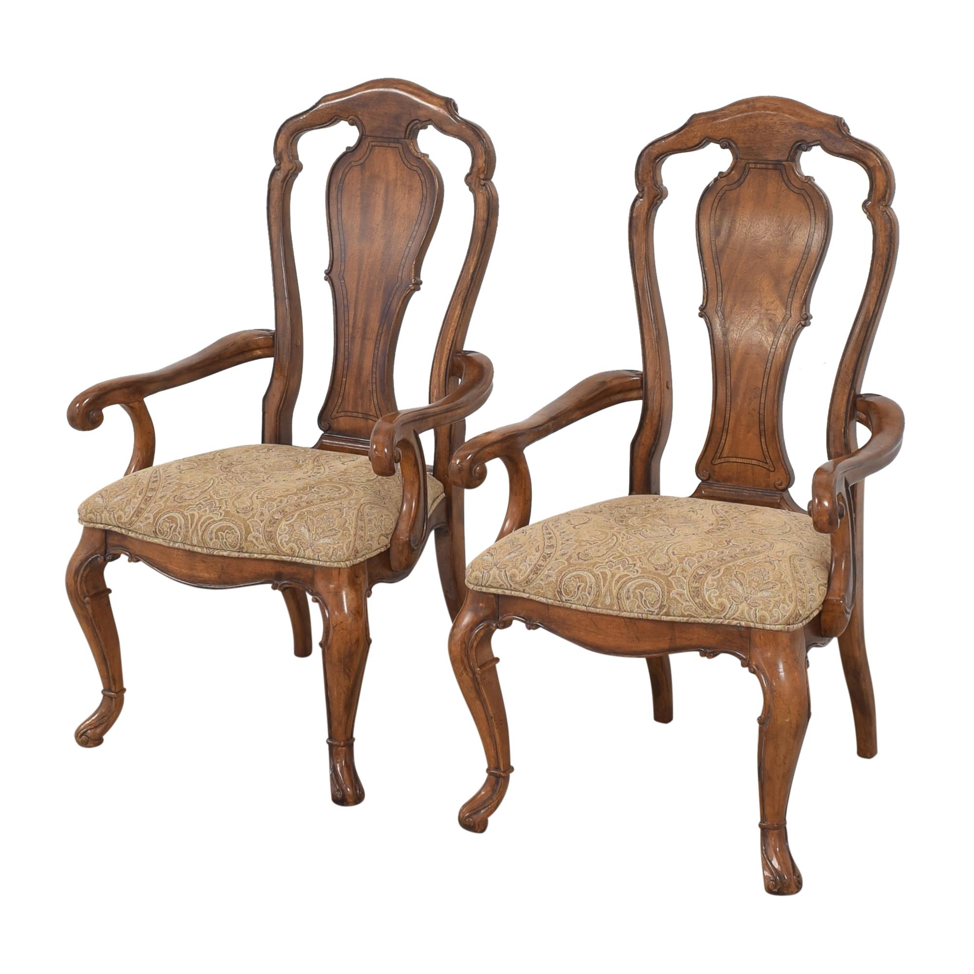 Thomasville Thomasville Ernest Hemingway Granada Dining Arm Chairs price