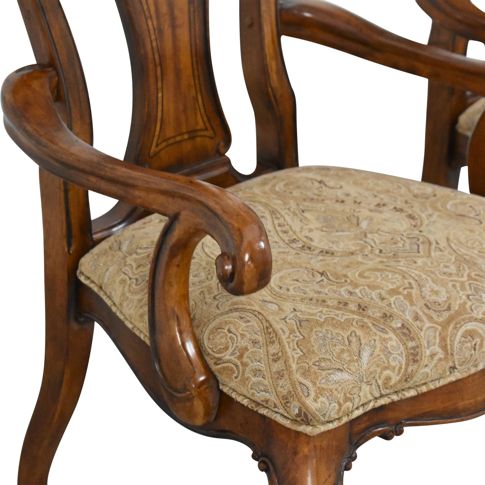 Thomasville Ernest Hemingway Granada Dining Arm Chairs Thomasville
