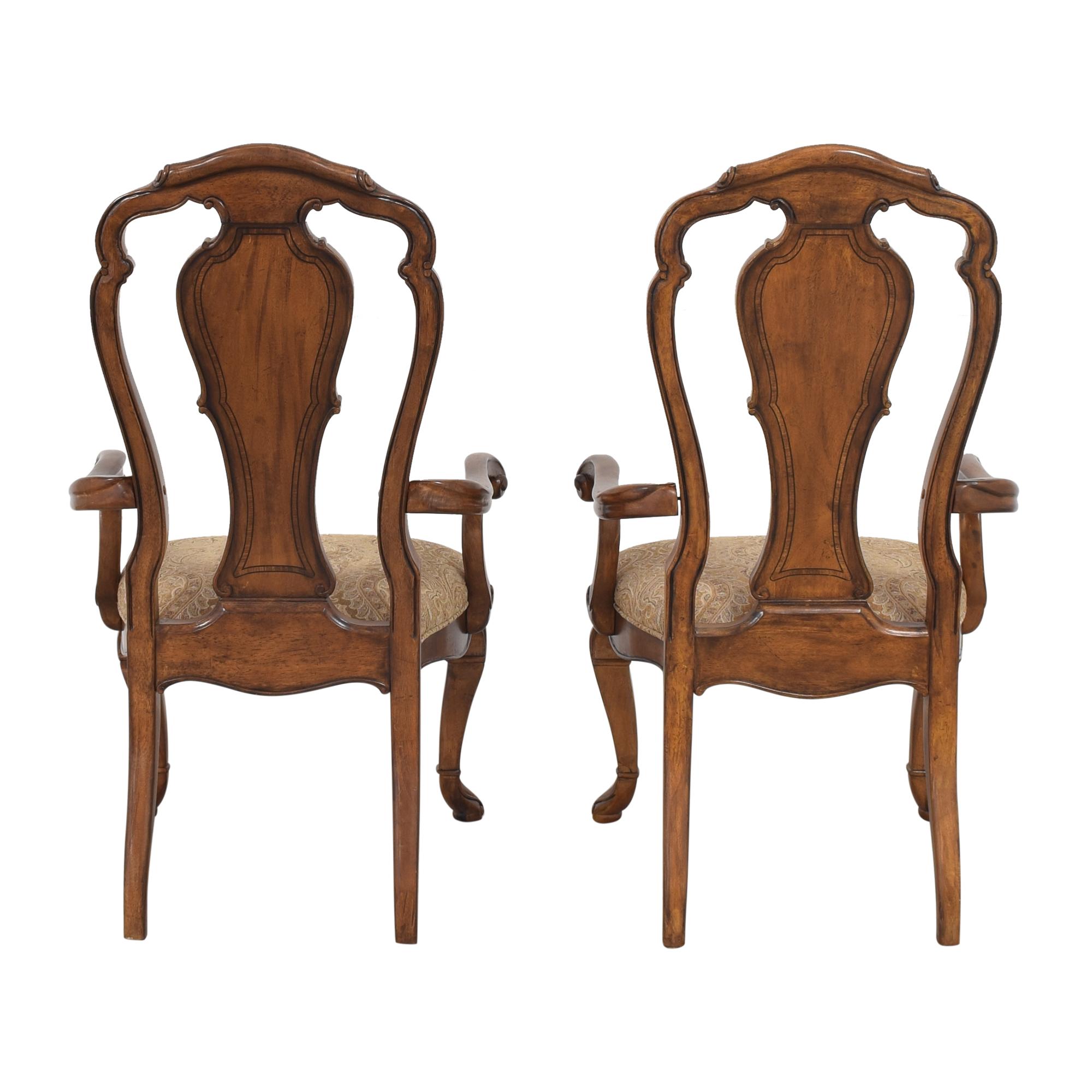buy Thomasville Ernest Hemingway Granada Dining Arm Chairs Thomasville Chairs