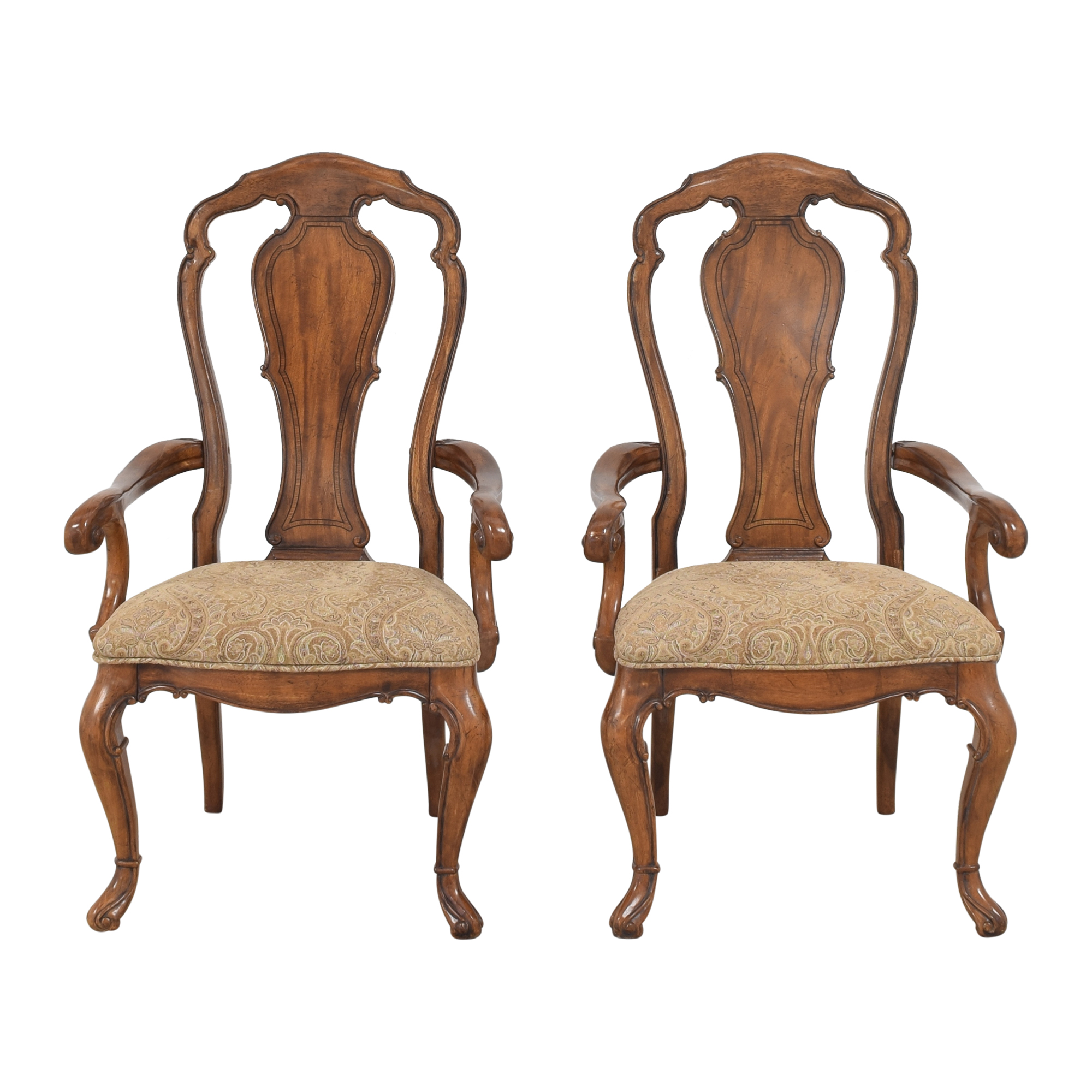 Thomasville Thomasville Ernest Hemingway Granada Dining Arm Chairs used