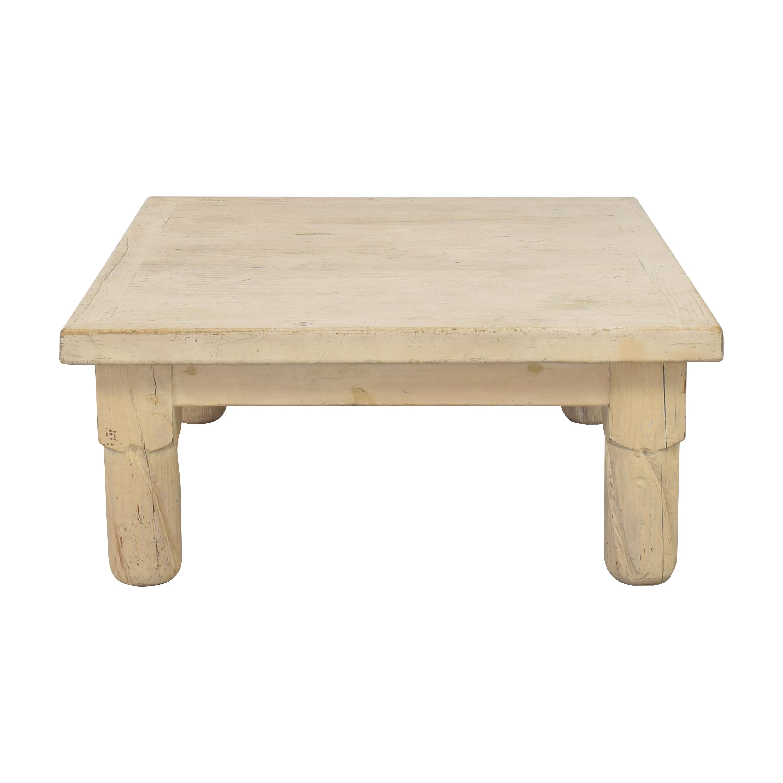 Vintage Square Coffee Table used
