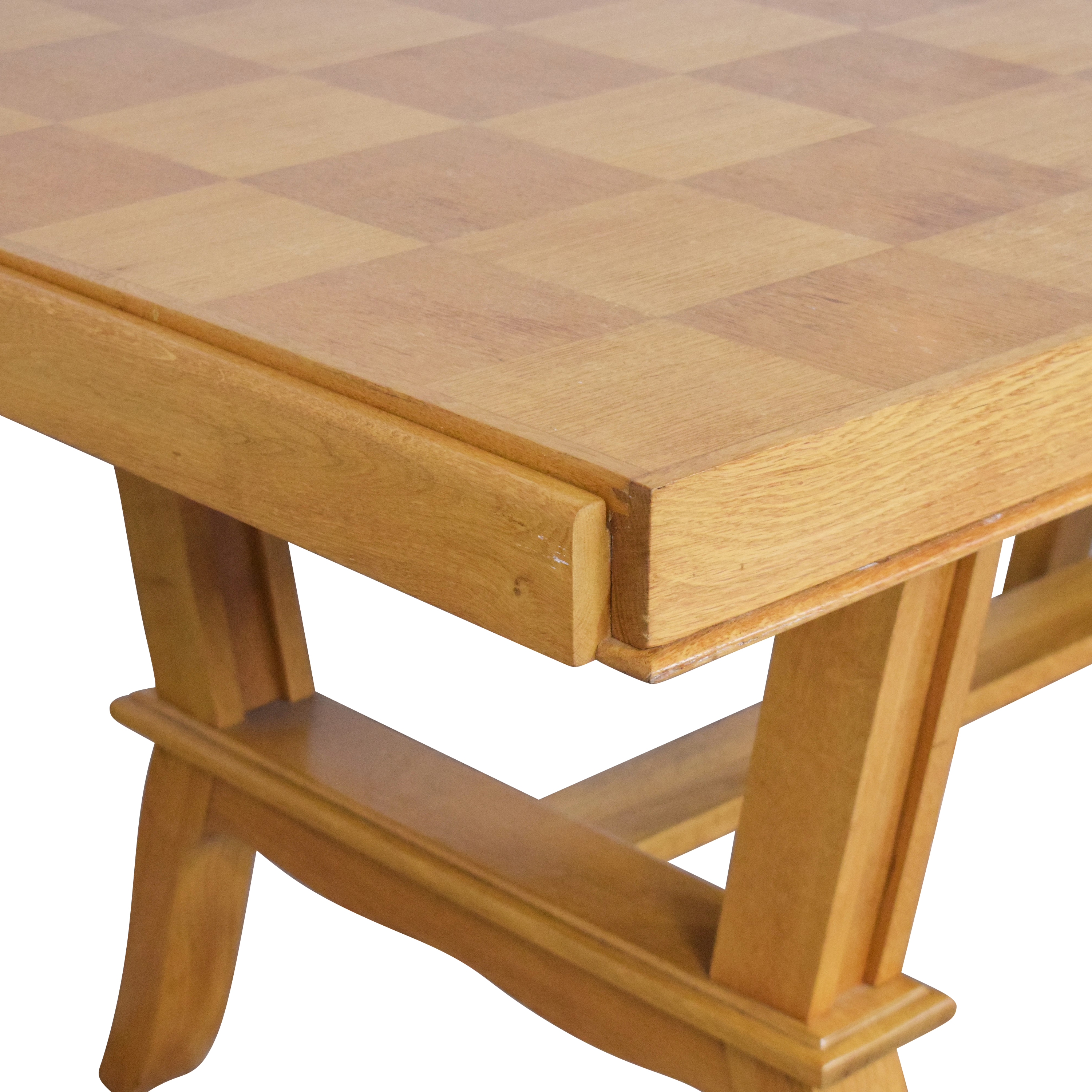 shop French Parquet Extendable Dining Table