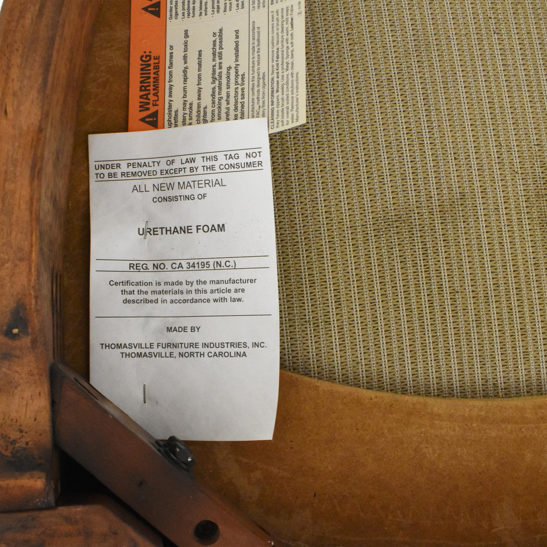 Thomasville Thomasville Ernest Hemingway Granada Dining Chairs brown