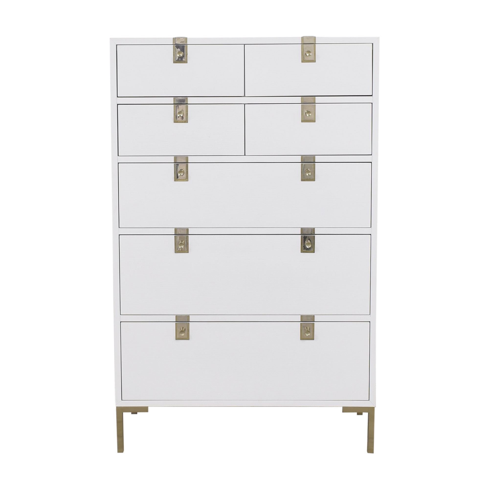 Anthropologie Anthropologie Ingram Seven Drawer Dresser dimensions