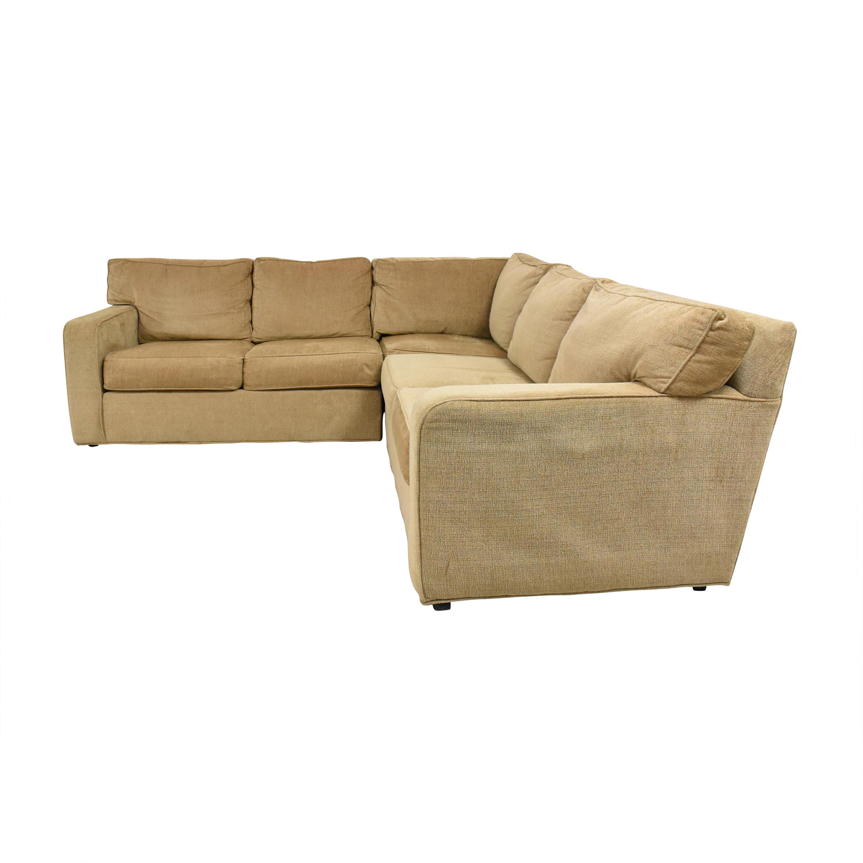 Ethan Allen Ethan Allen Corner Sectional Sofa price