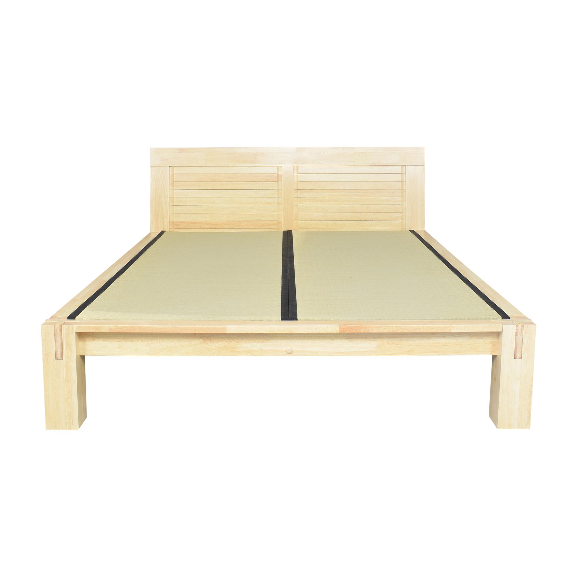 Haiku Designs Haiku Designs Raku Tatami High Rise Platform Queen Bed  nyc