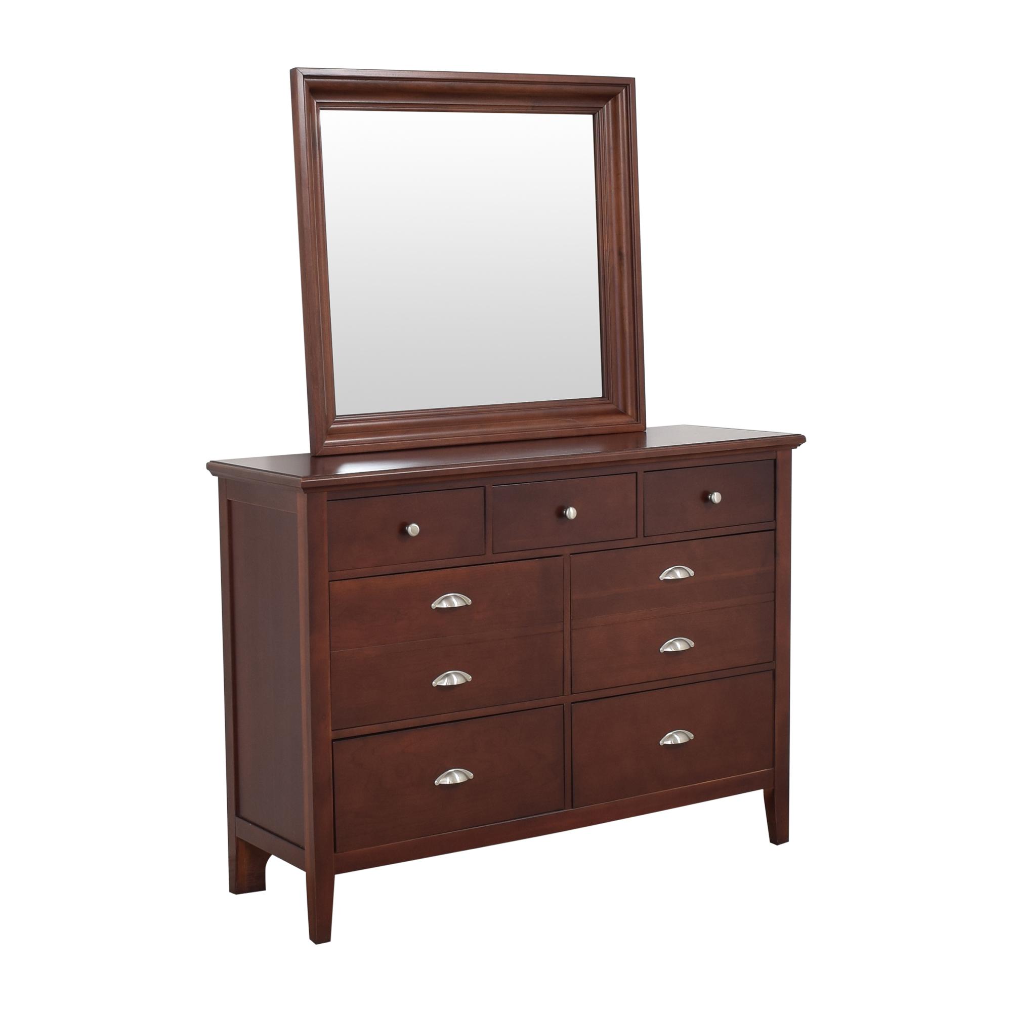 Vaughan-Bassett Vaughan-Bassett Twilight Triple Dresser with Mirror coupon
