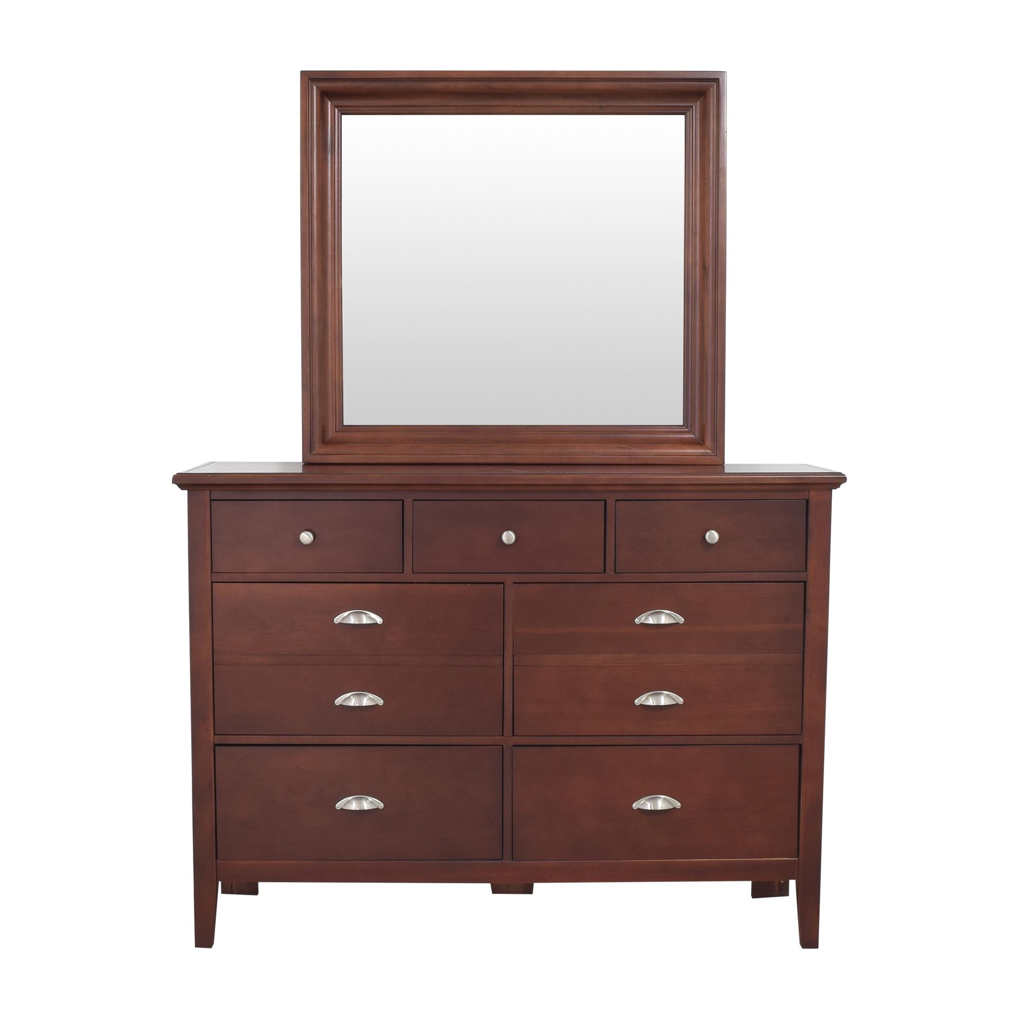Vaughan-Bassett Vaughan-Bassett Twilight Triple Dresser with Mirror Storage