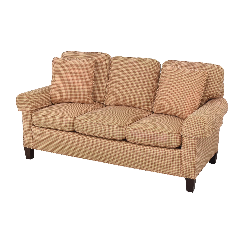 Sherrill Furniture Sherrill Furniture Three Cushion Sofa ma
