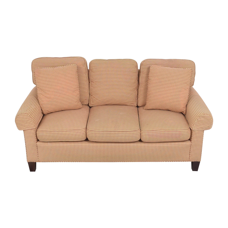 Sherrill Furniture Sherrill Furniture Three Cushion Sofa nyc