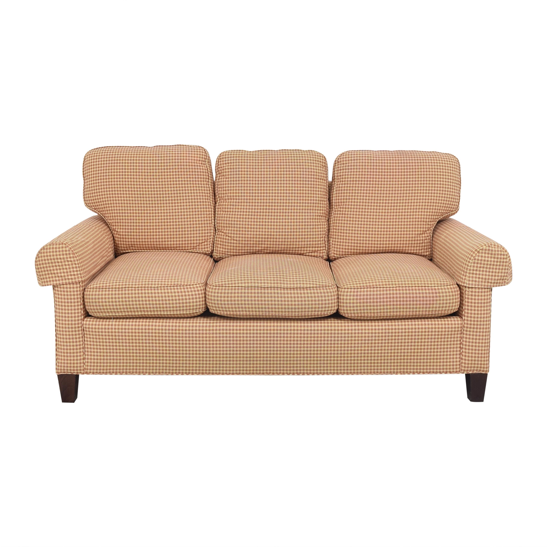 Sherrill Furniture Three Cushion Sofa sale