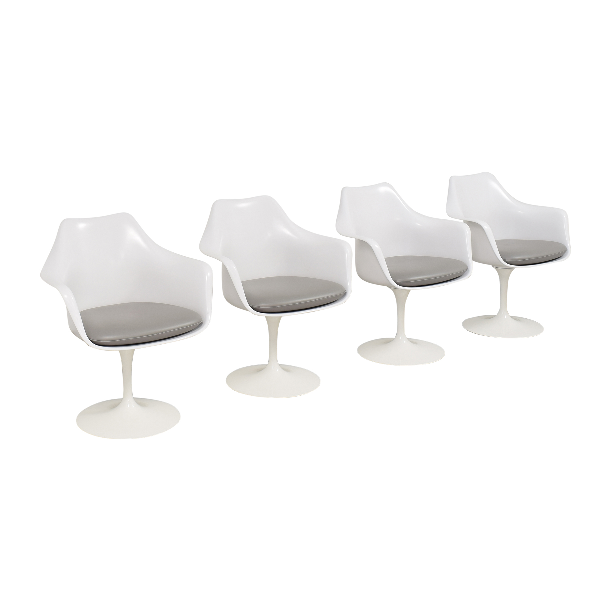 shop Knoll Tulip Armchairs Knoll Dining Chairs