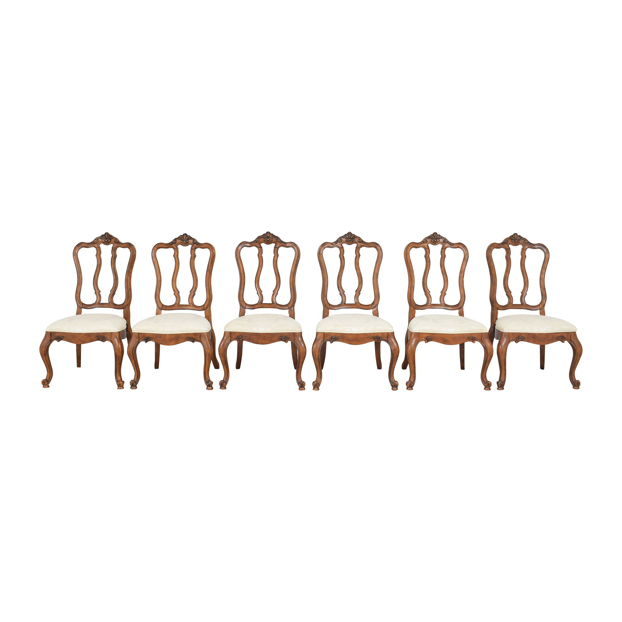 shop Ethan Allen Tuscany Augustine Side Dining Chairs Ethan Allen
